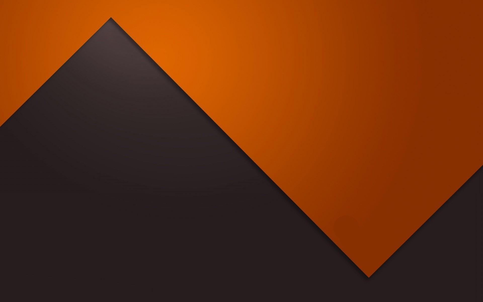 Download Orange and Gray Zigzag Wallpaper 47473