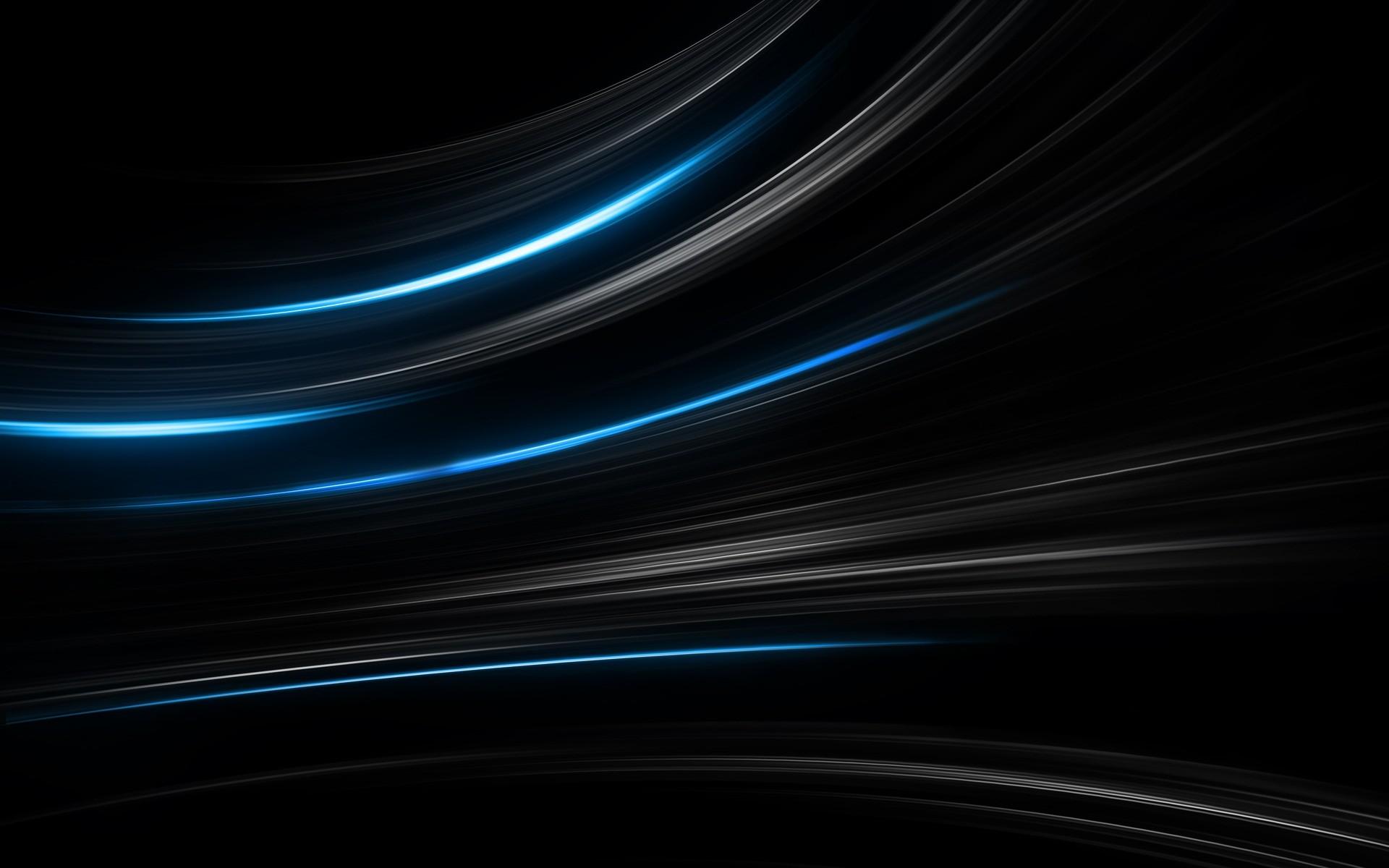 Blue Light Blaze Wallpaper Abstract 3D