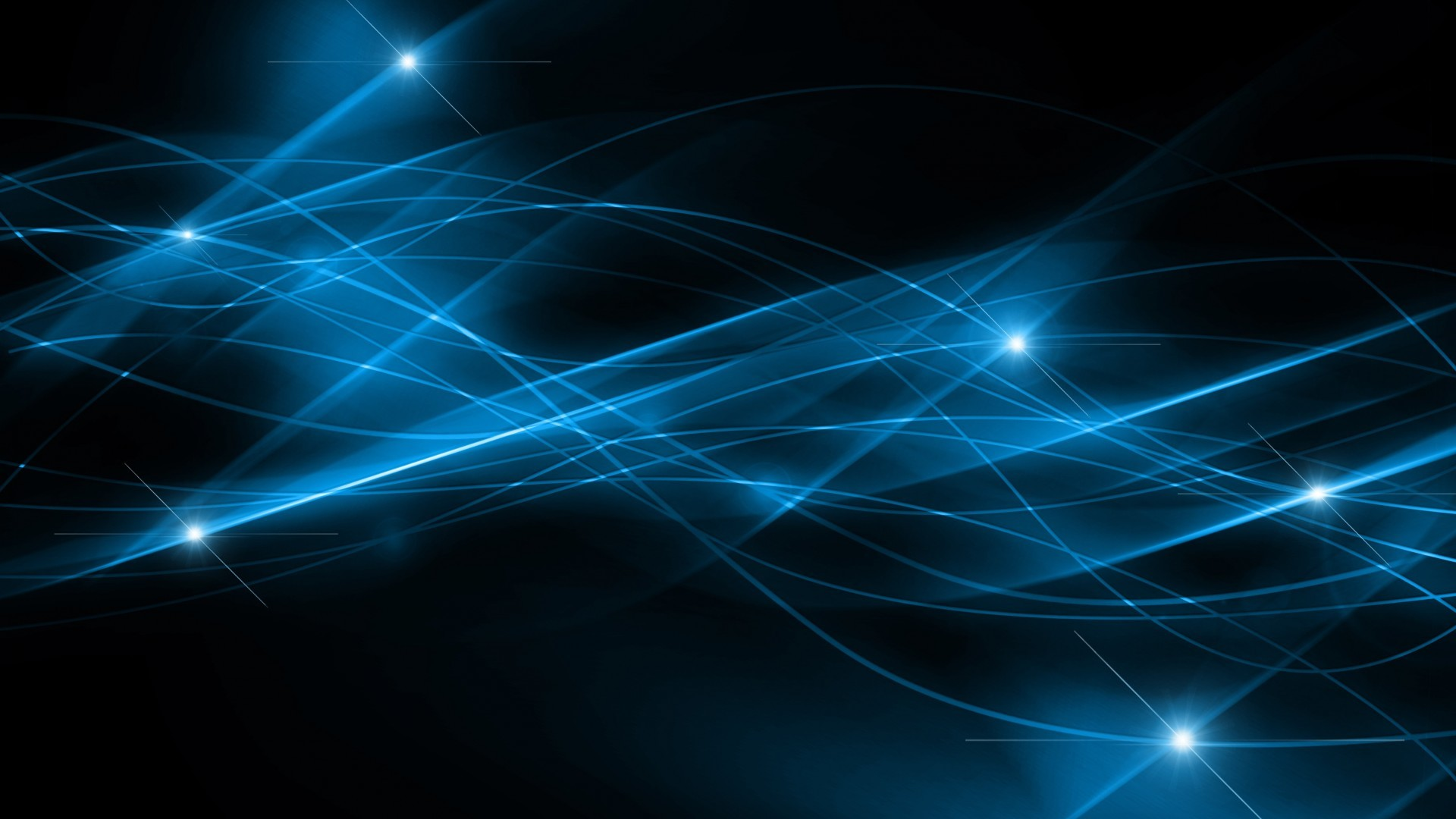 Dark Blue and Black Abstract Wallpaper