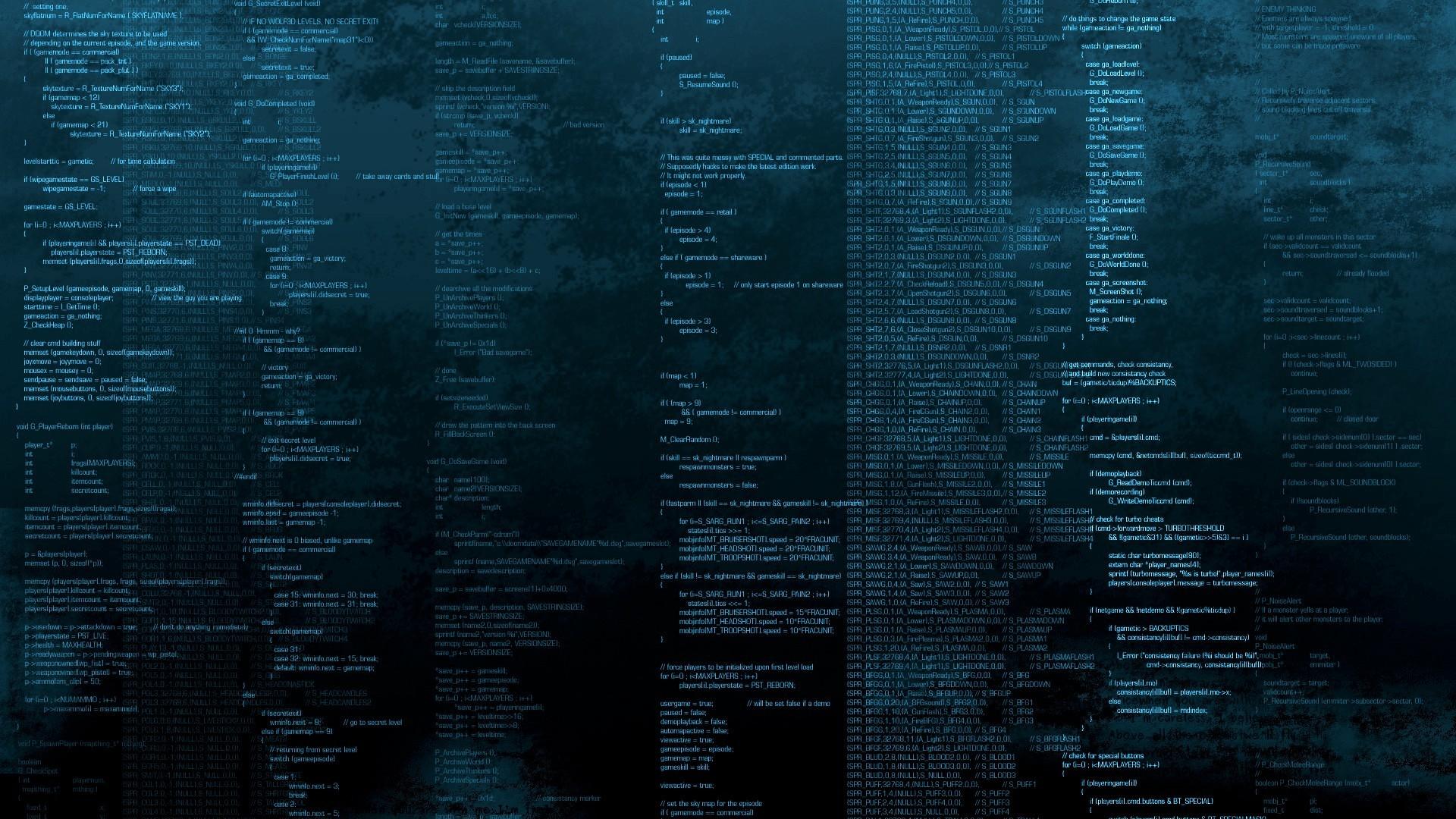 numbers symbol Code Black Coding Programming Blue wallpaper background .