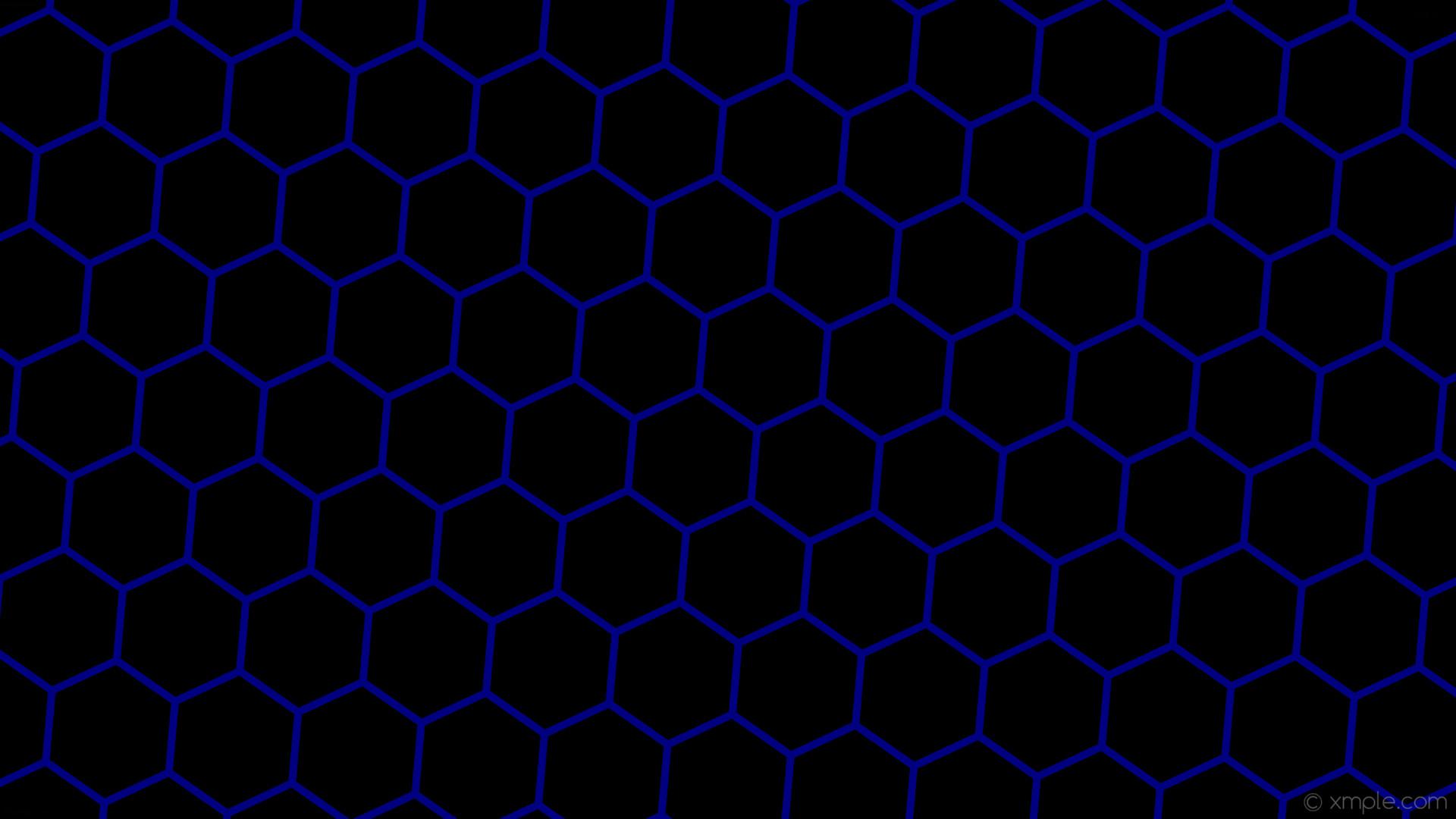 wallpaper beehive blue black hexagon honeycomb navy #000000 #000080  diagonal 55° 10px 163px