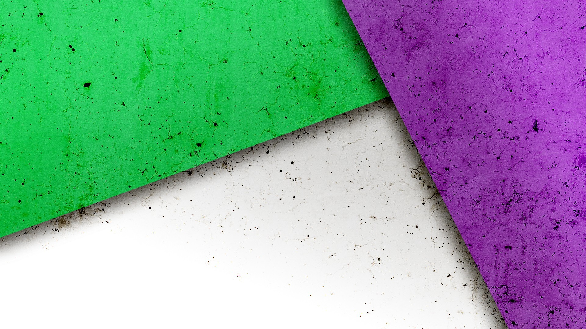 Purple And Green Wallpaper