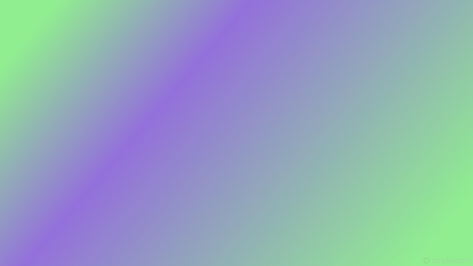 wallpaper purple highlight green gradient linear light green medium purple  #90ee90 #9370db 345°