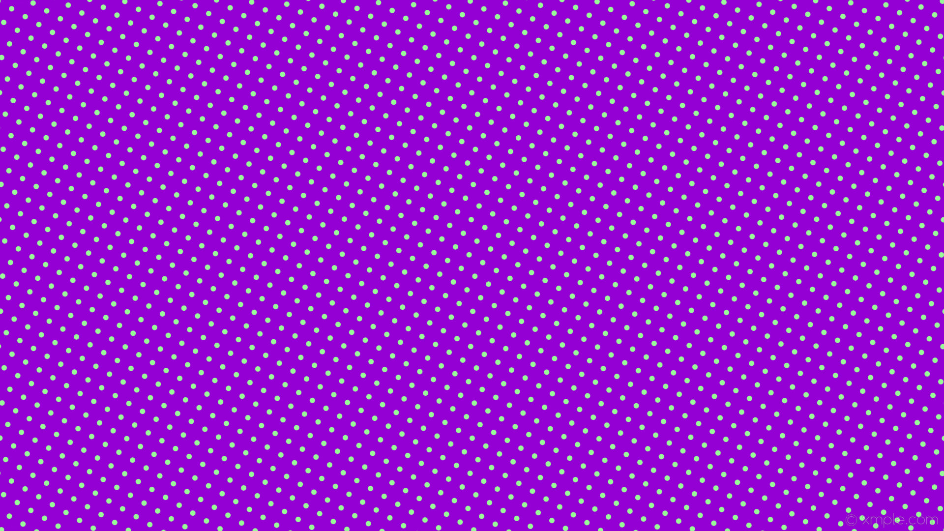 wallpaper spots purple green polka dots dark violet pale green #9400d3  #98fb98 330°