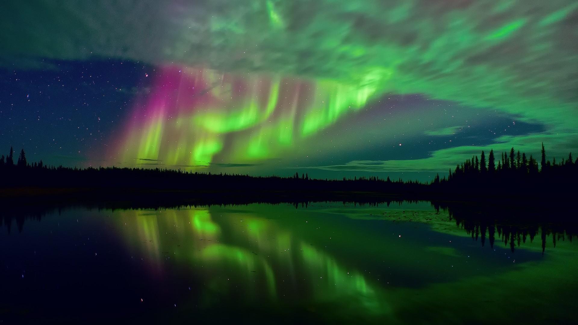 Aurora Borealis Northern Lights HD Wallpaper