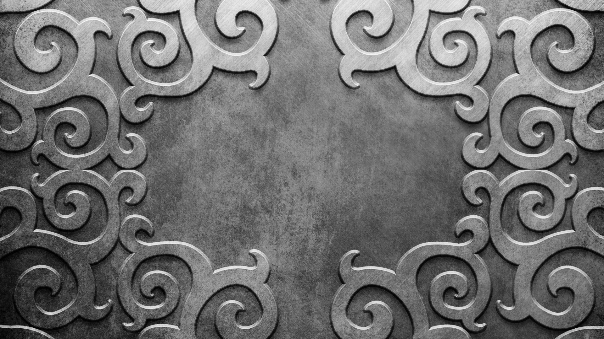 Preview wallpaper metal, patterns, lines, silver, background 1920×1080