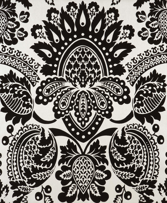 Full HD Black Damask Wallpaper, Desktop Wallpaper Black Damask Wallpaper