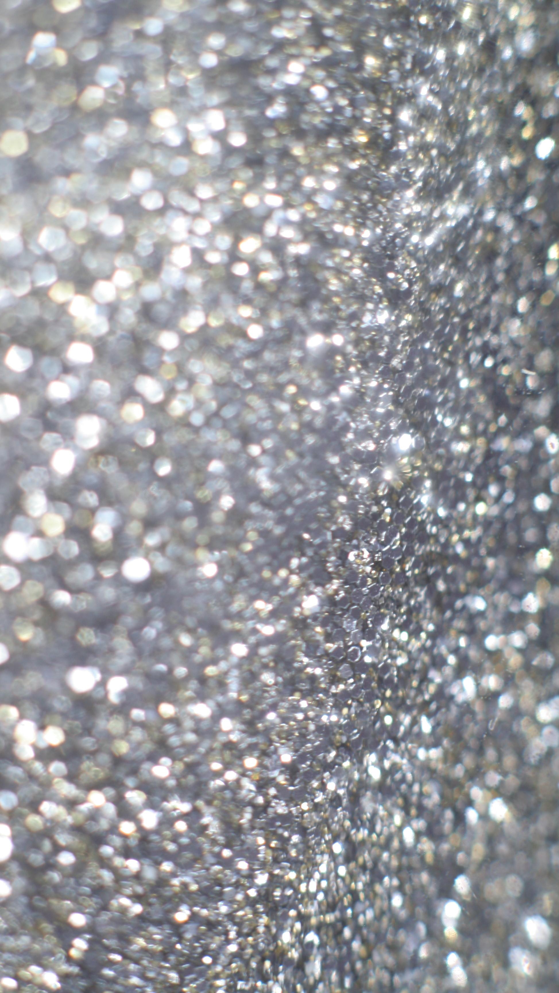 Silver glitter iphone phone wallpaper background lock screen