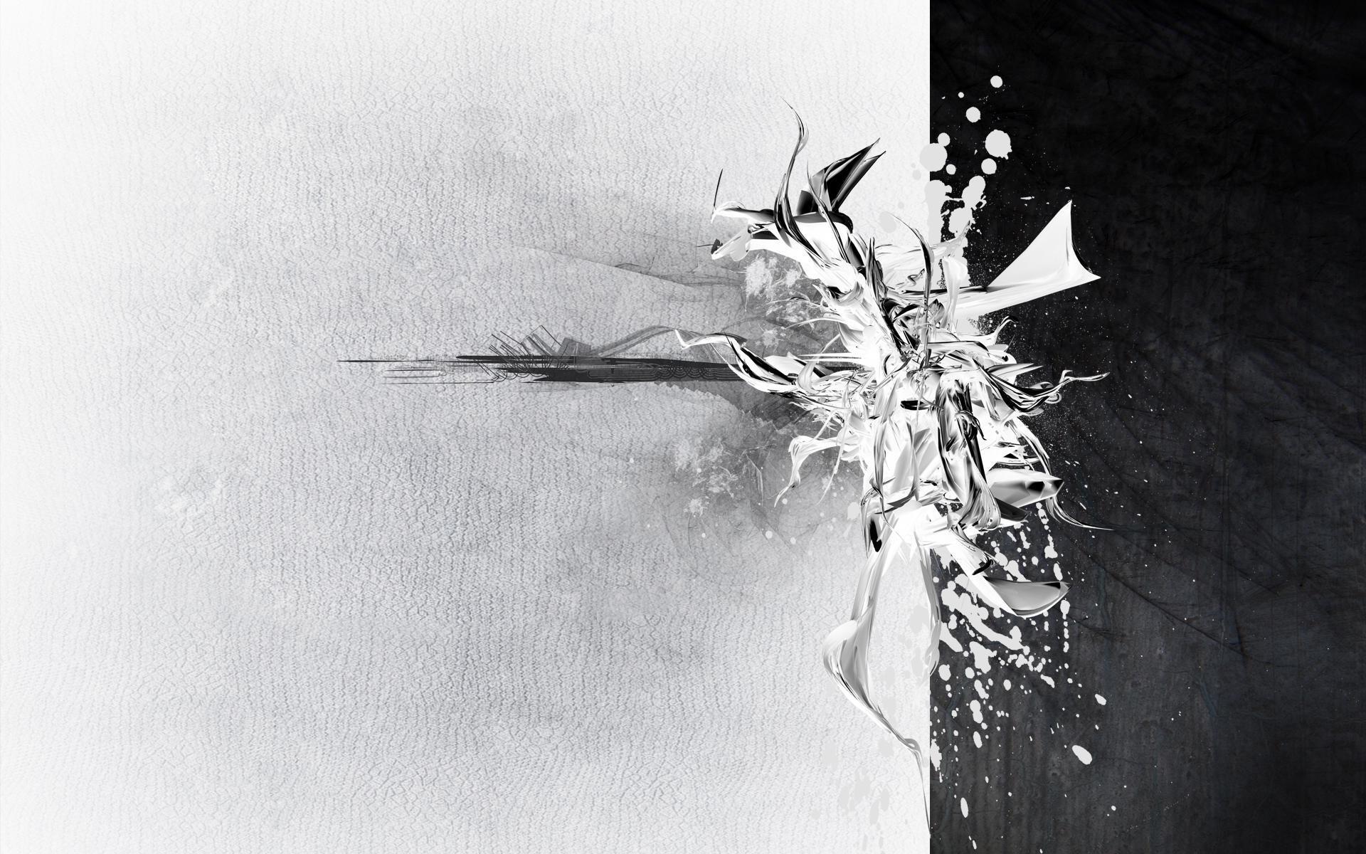Black And Silver Wallpaper 18 Desktop Wallpaper
