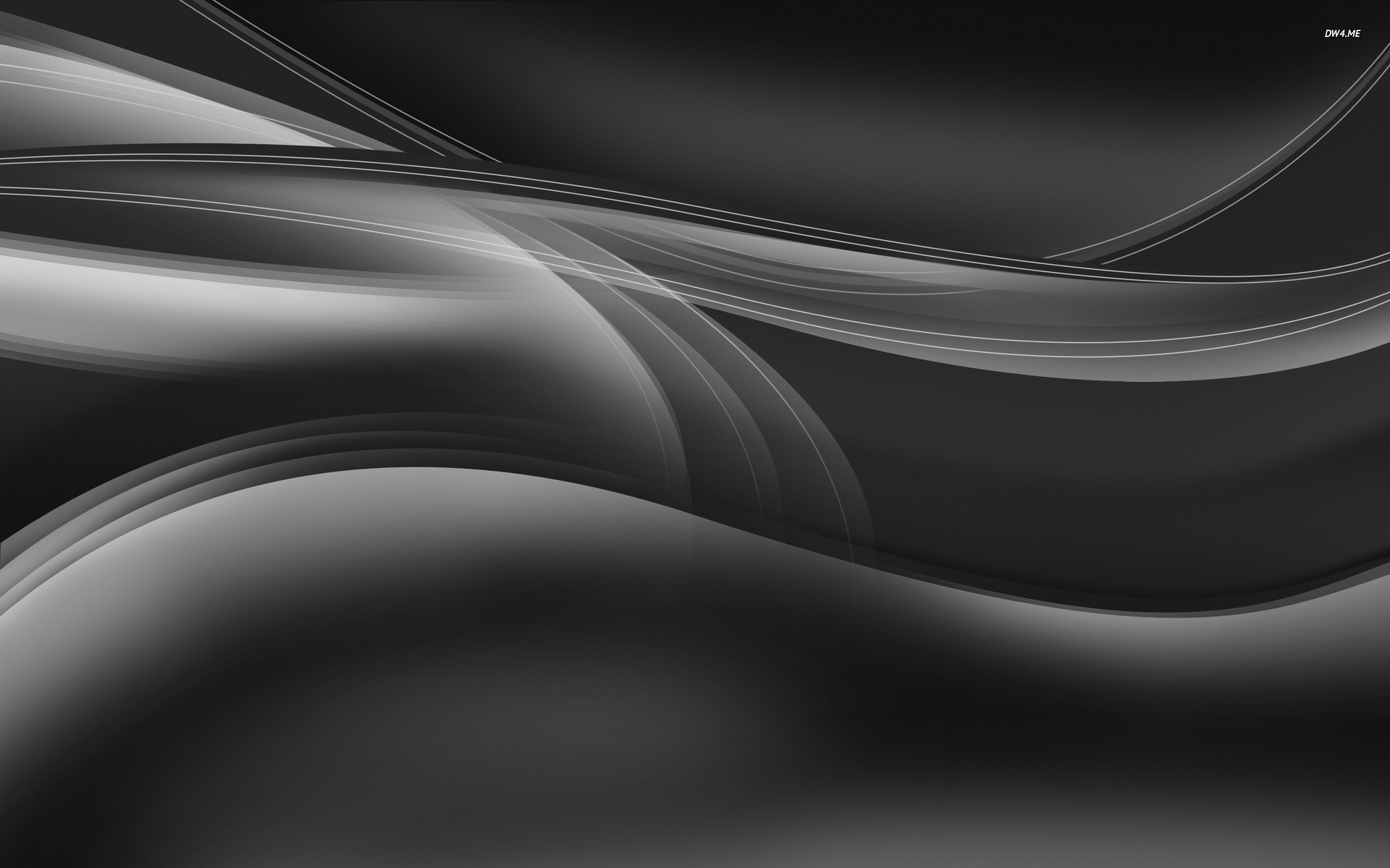 Silver curves wallpaper – Abstract wallpapers – #1555