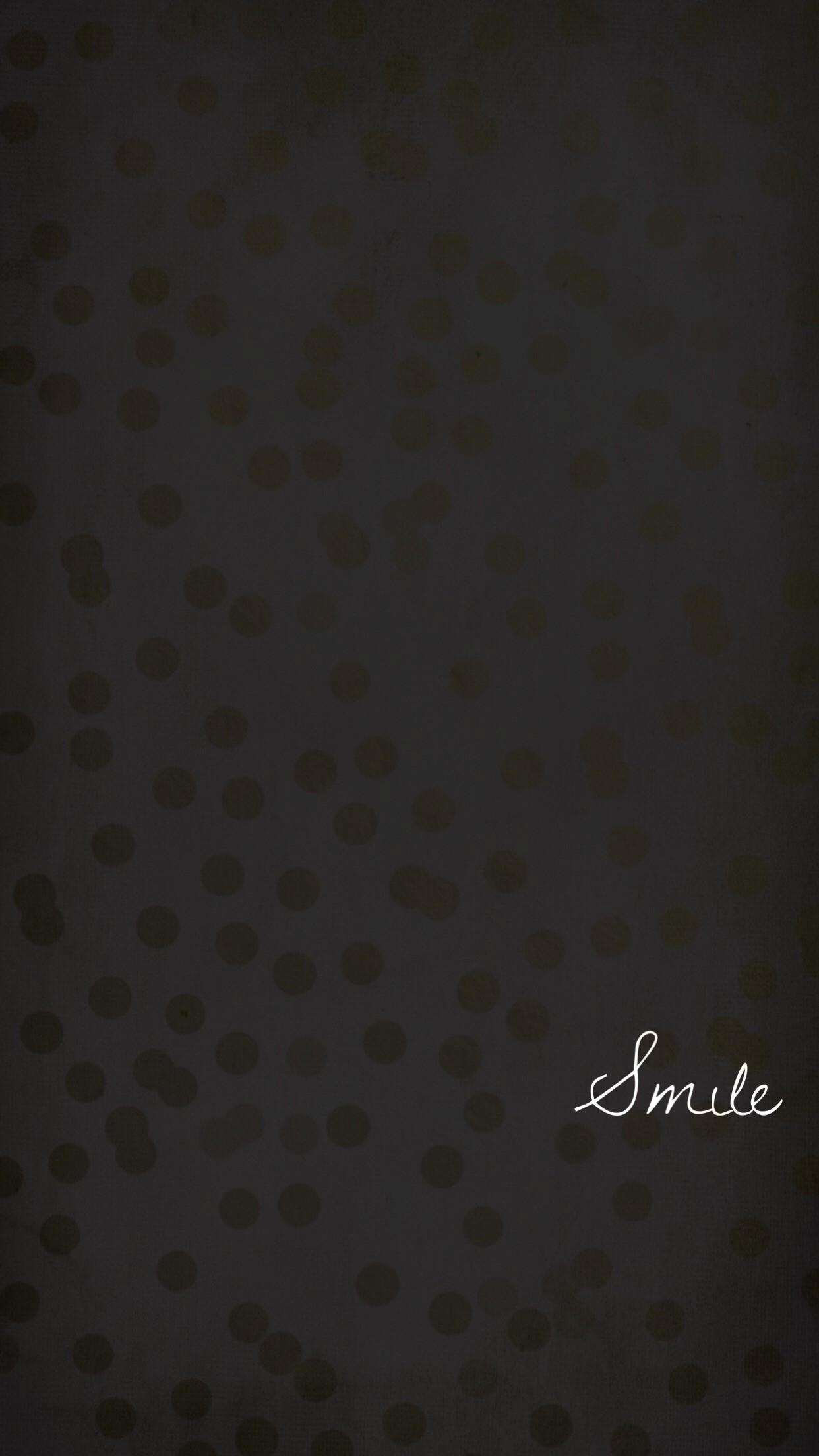 smile, wallpaper, background, black, gold, iphone