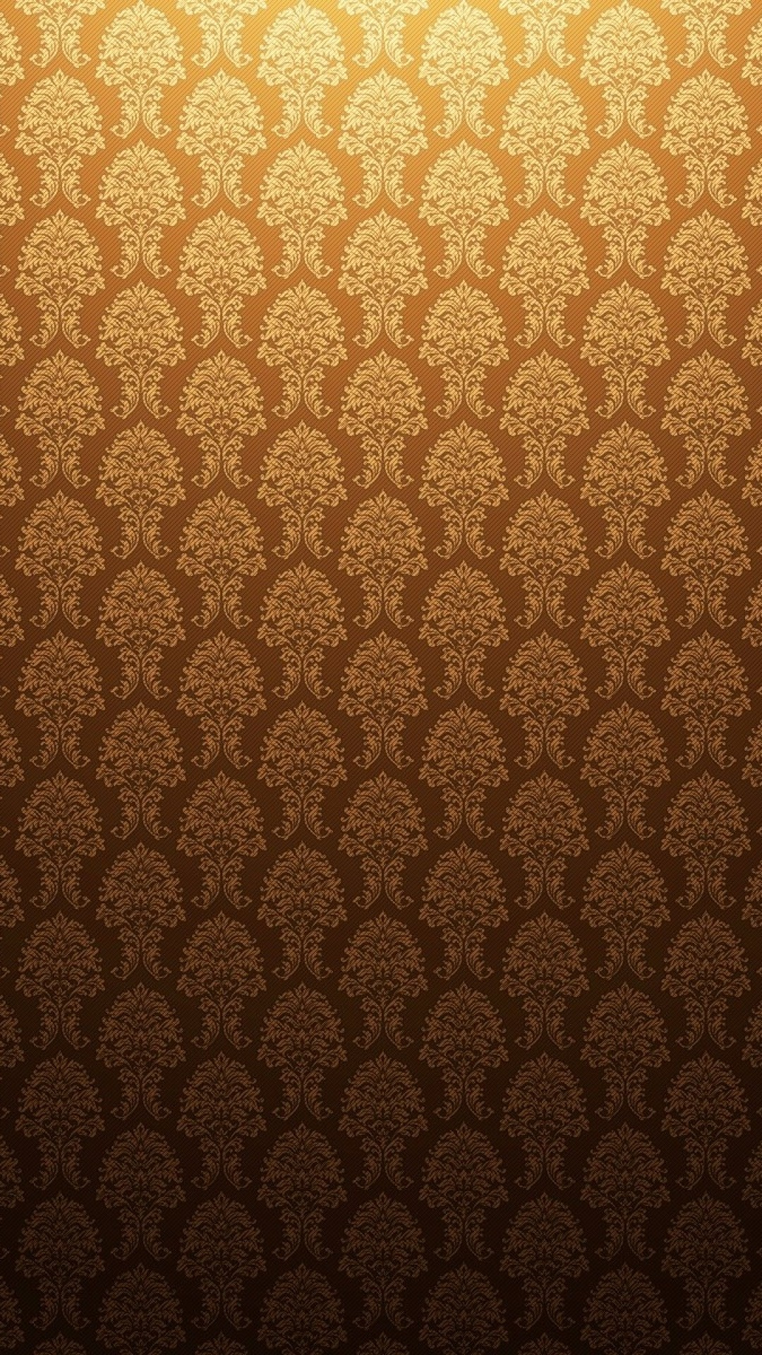 Preview wallpaper gold, antique, background, patterns 1080×1920