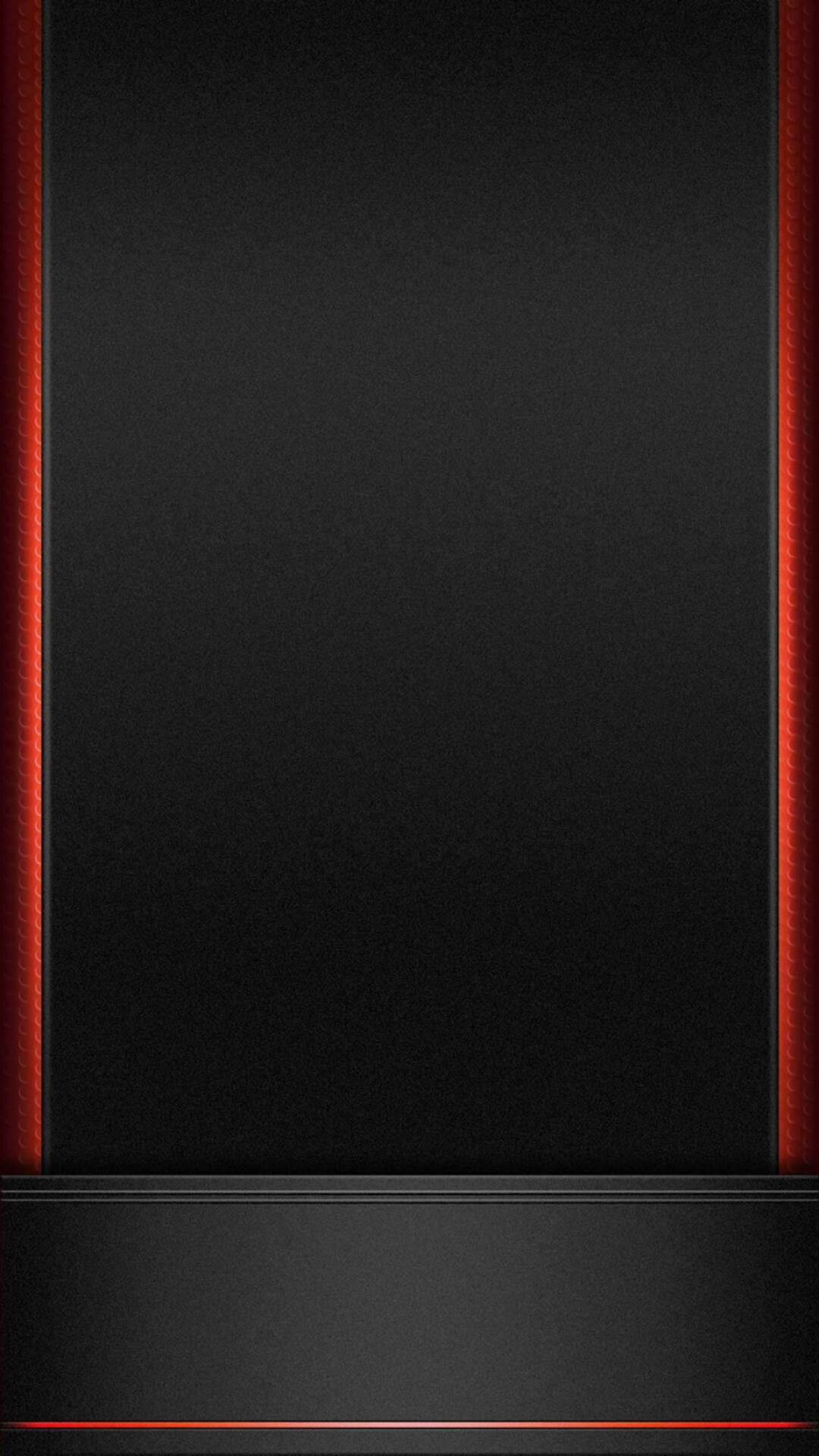 Black with Red Trim Wallpaper