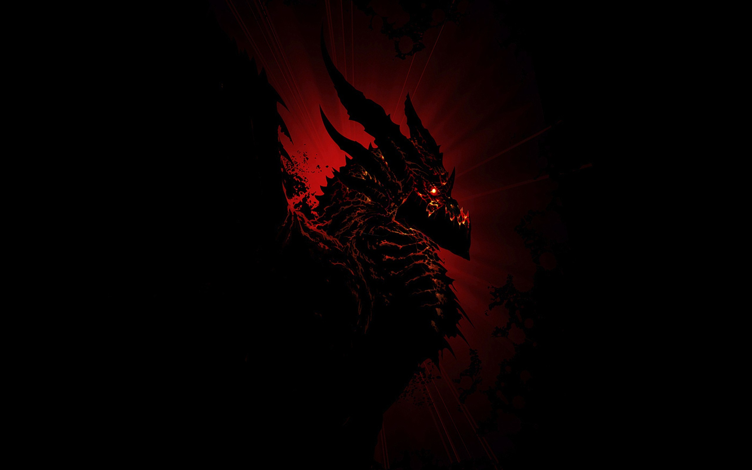 Black-and-Red-Dragon-Photo