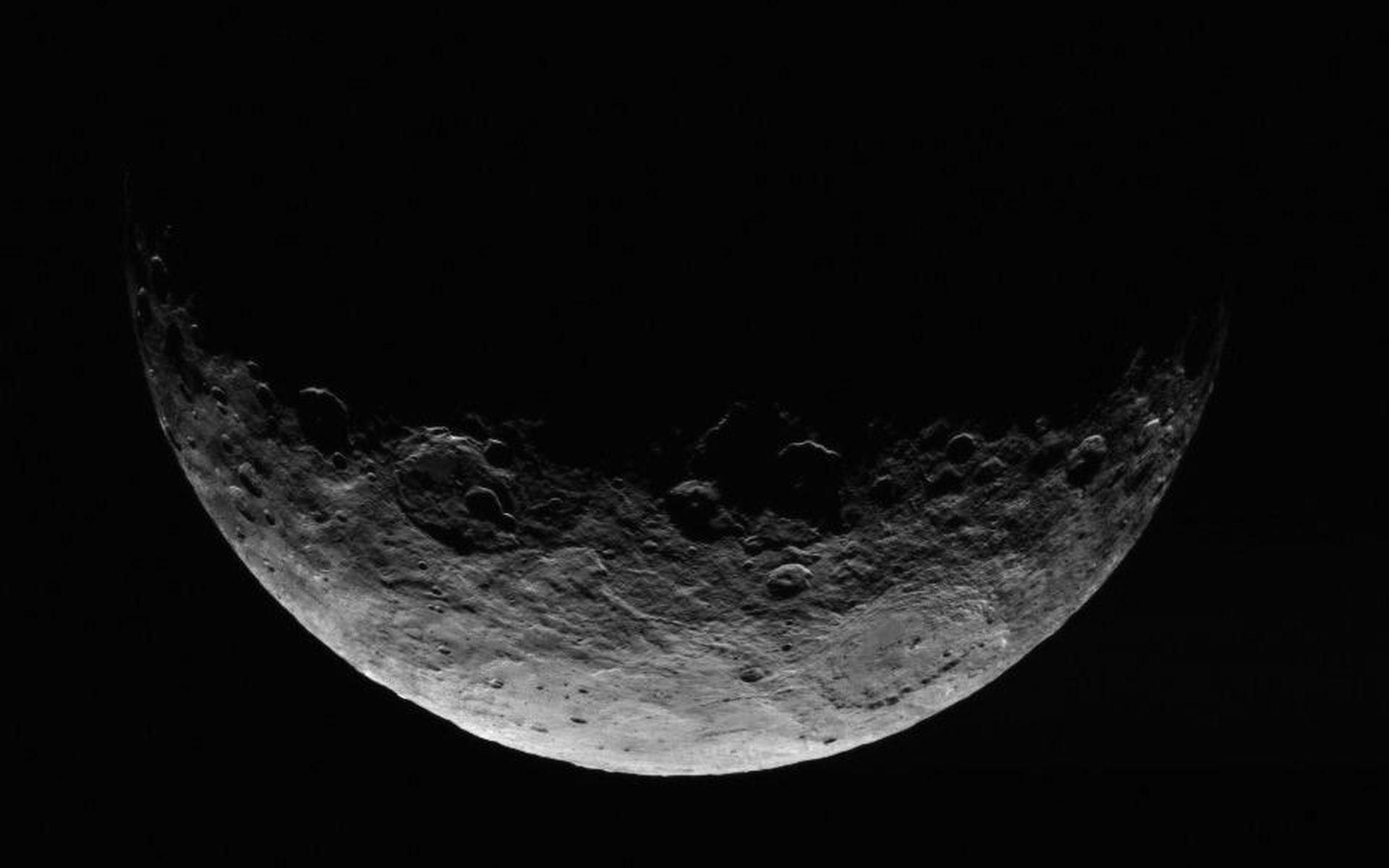 This image of Ceres is part of a sequence taken by NASA's Dawn spacecraft  April 24