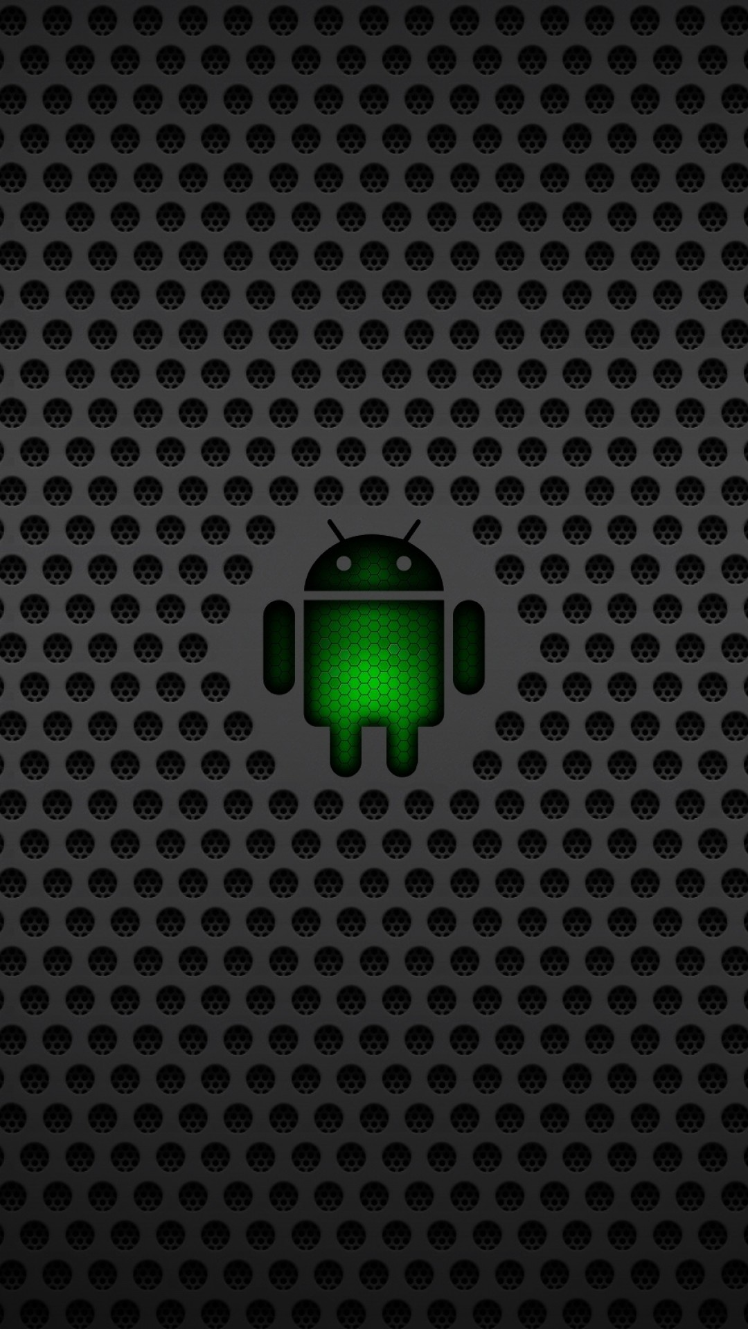 Wallpaper android, operating system, os, green, black, mesh