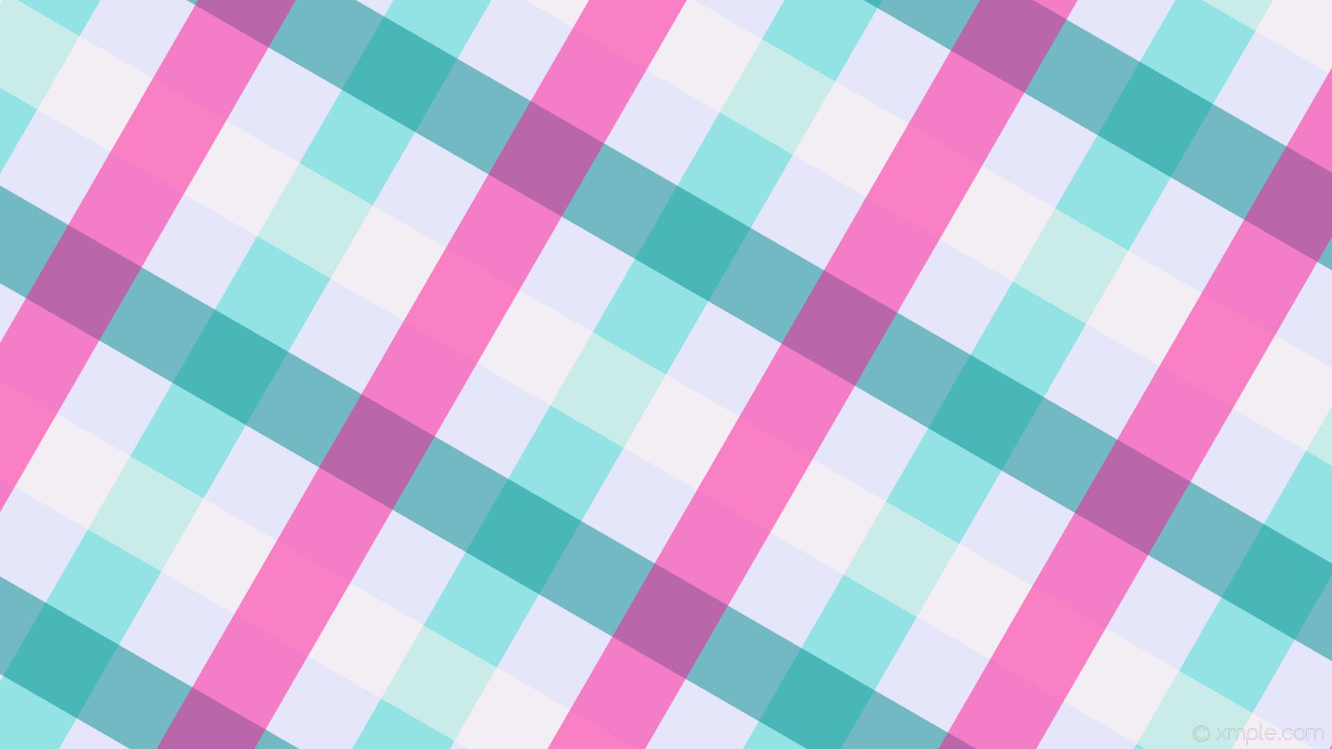 wallpaper gingham striped white pink blue green purple penta lavender  turquoise seashell dark cyan deep pink