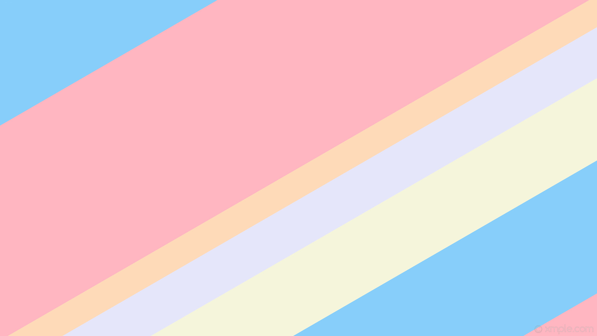 wallpaper streaks lines purple yellow stripes blue white pink peach puff  lavender beige light sky blue
