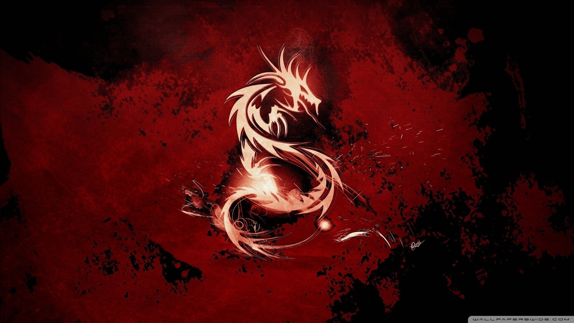 Blood Red Dragon Wallpaper Blood, Red, Dragon