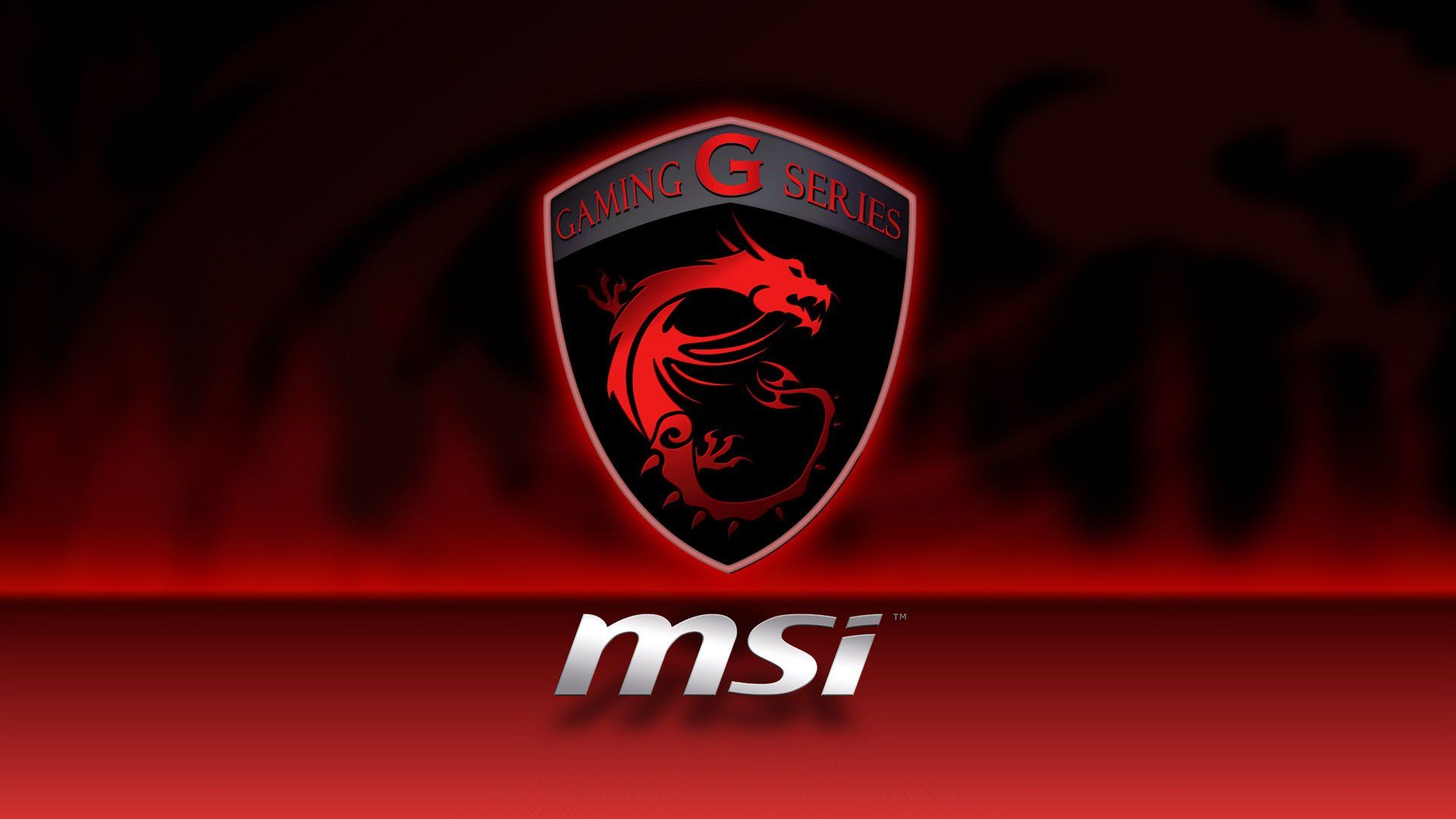 Gaming G Series Wallpaper MSi Dragon Logo