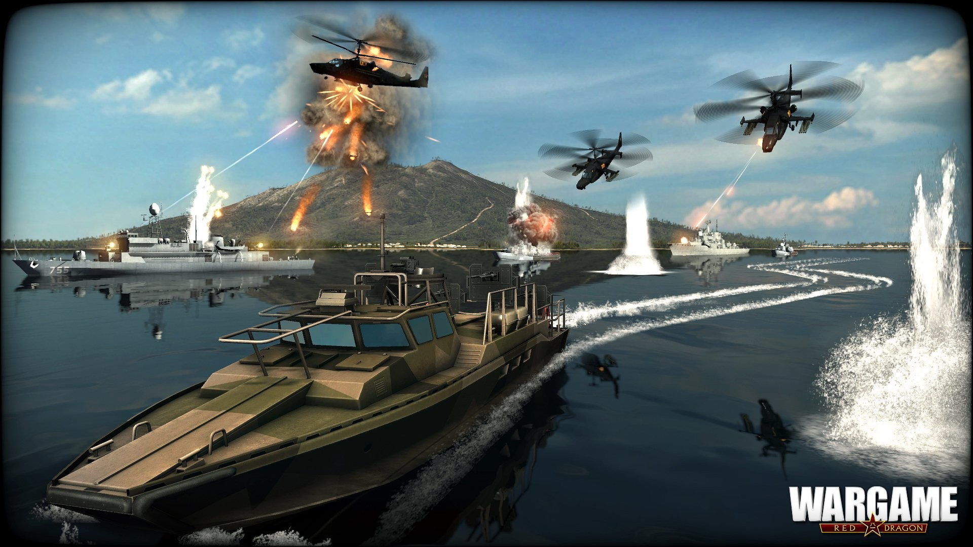 HD Wallpaper   Background ID:532166. Video Game Wargame: Red  Dragon