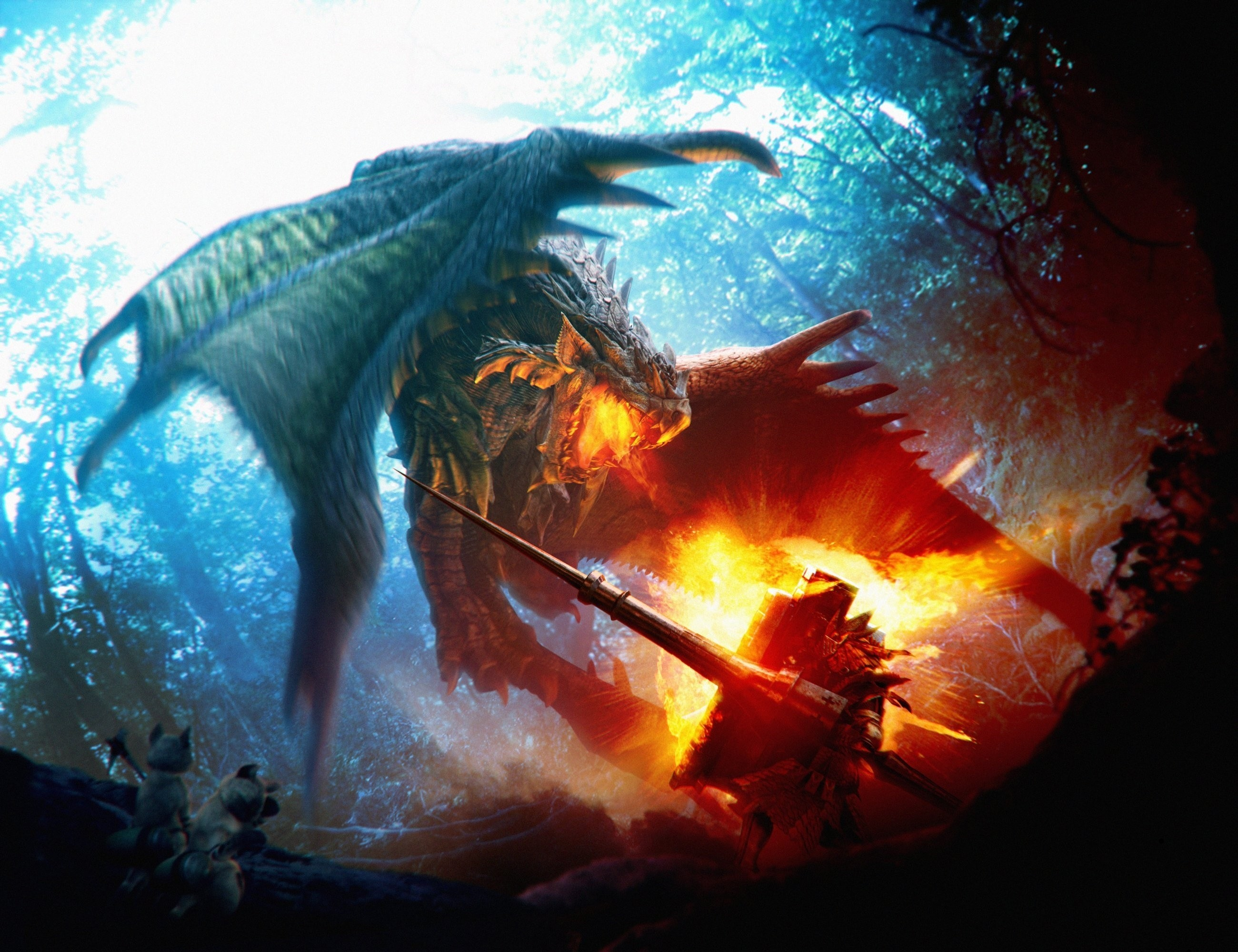 The Hunter   Video Game Icons – Past & Present   Pinterest   Monster  hunter, Dragons and Monsters