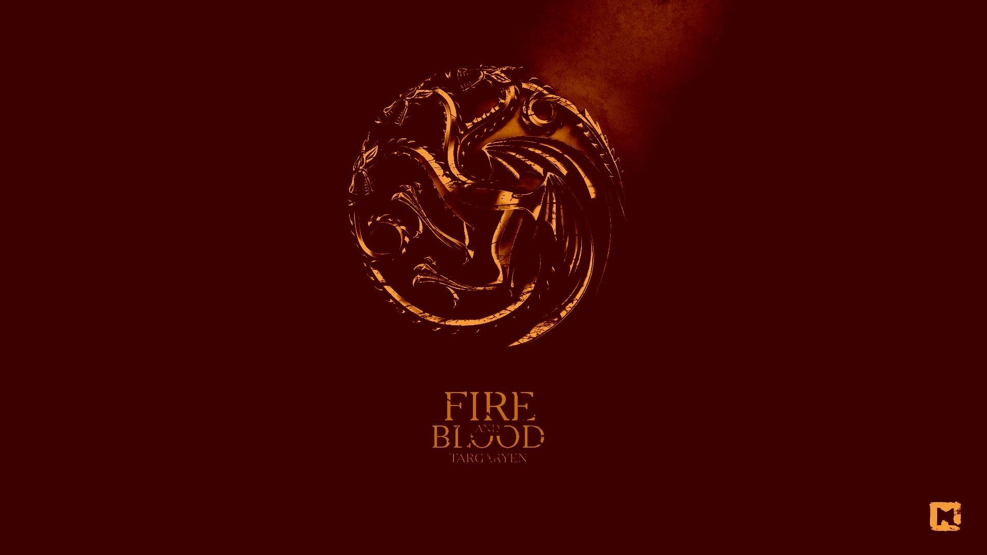 Game Of Thrones, House Targaryen, Dragon, Sigils, Red Wallpapers HD /  Desktop and Mobile Backgrounds