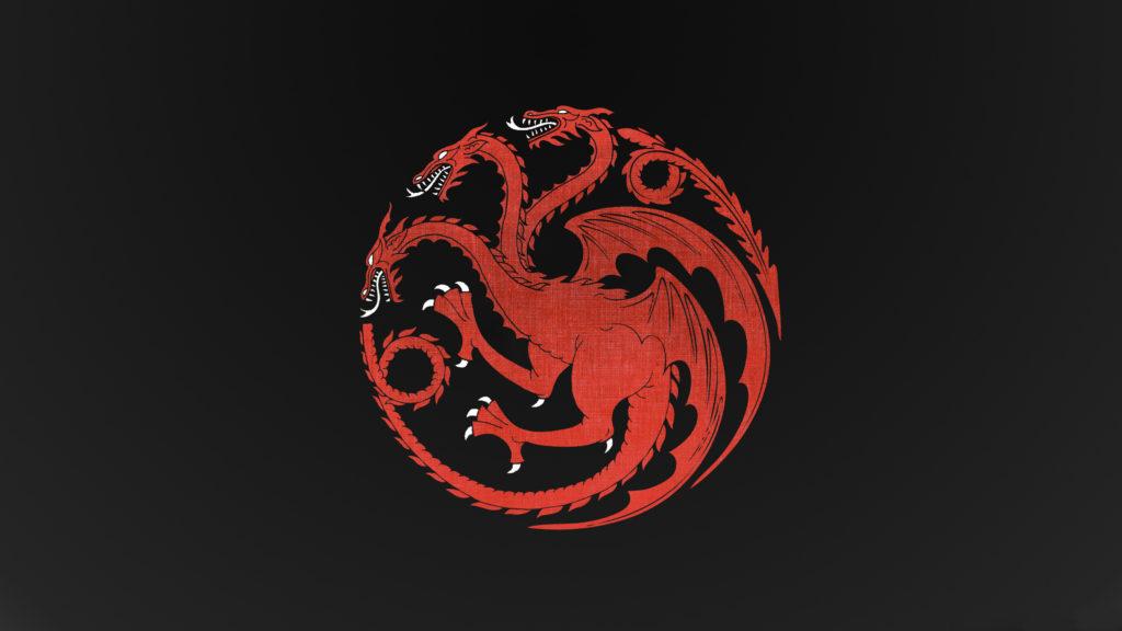 House Targaryen Dragon Game Of Thrones Dragon Minimalism