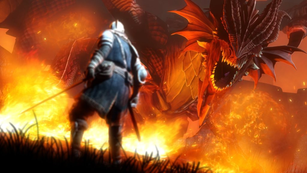 video Games, Dark Souls, Fire, Dragon Wallpapers HD / Desktop and Mobile  Backgrounds