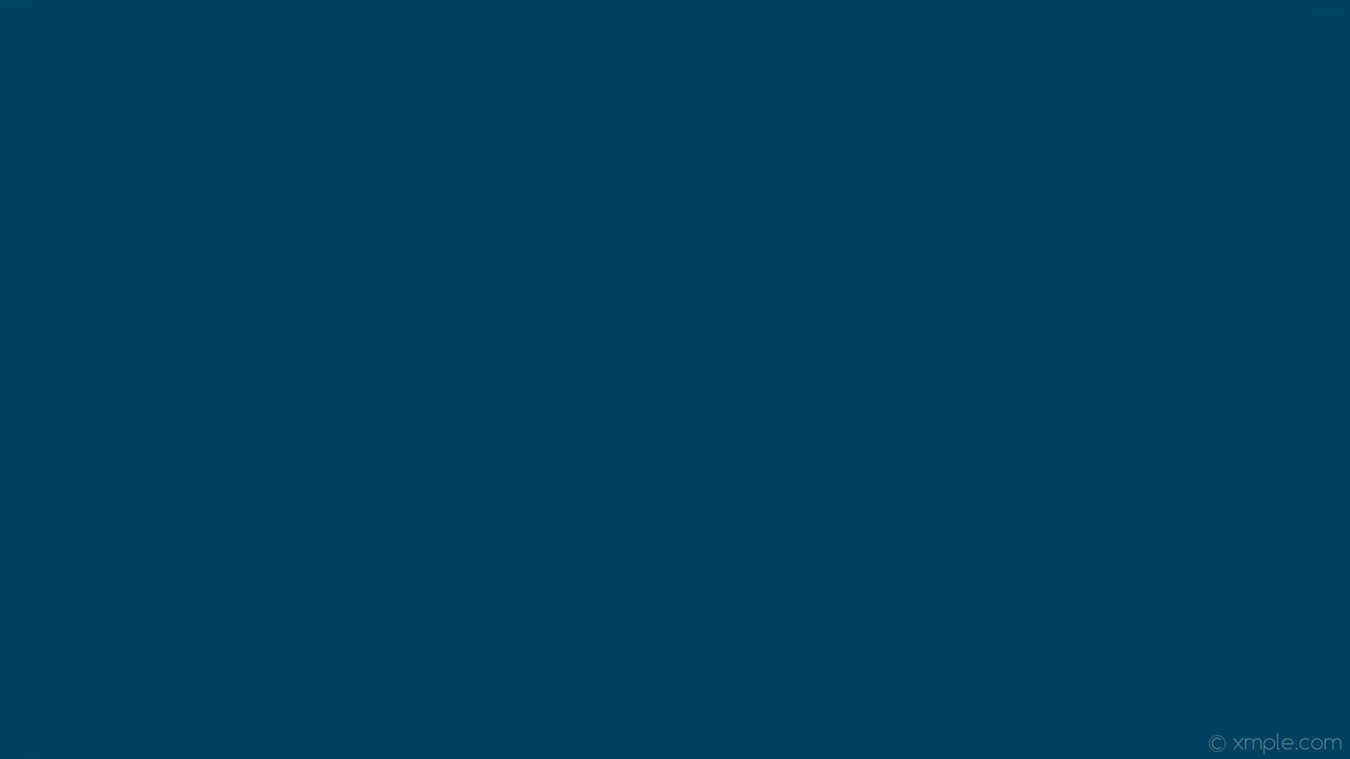 wallpaper one colour single solid color azure plain dark azure #024261