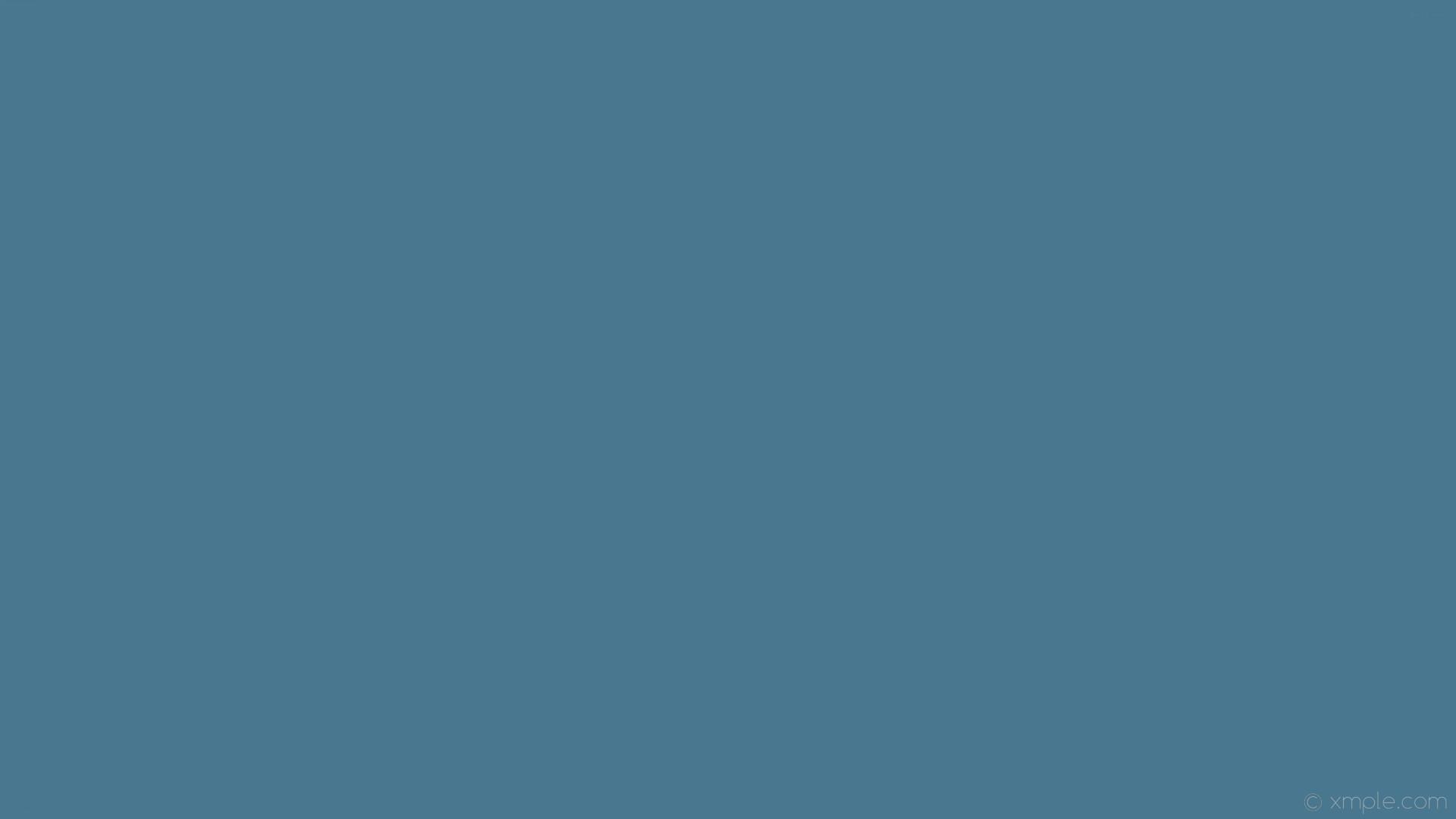 wallpaper single azure solid color plain one colour #48778f
