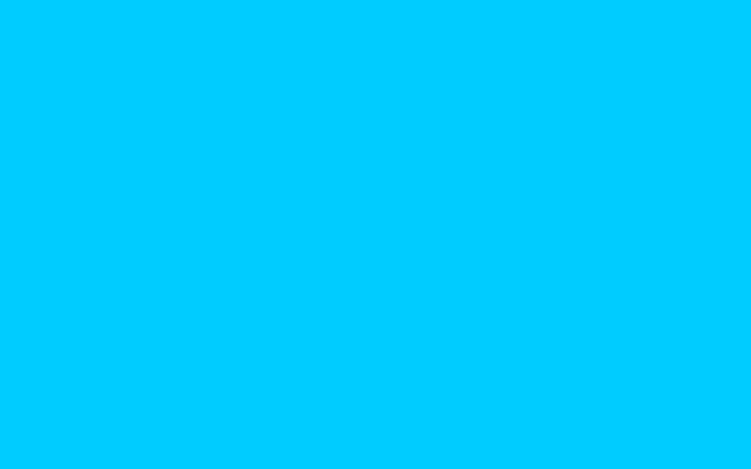 Vivid Sky Blue Solid Color Background