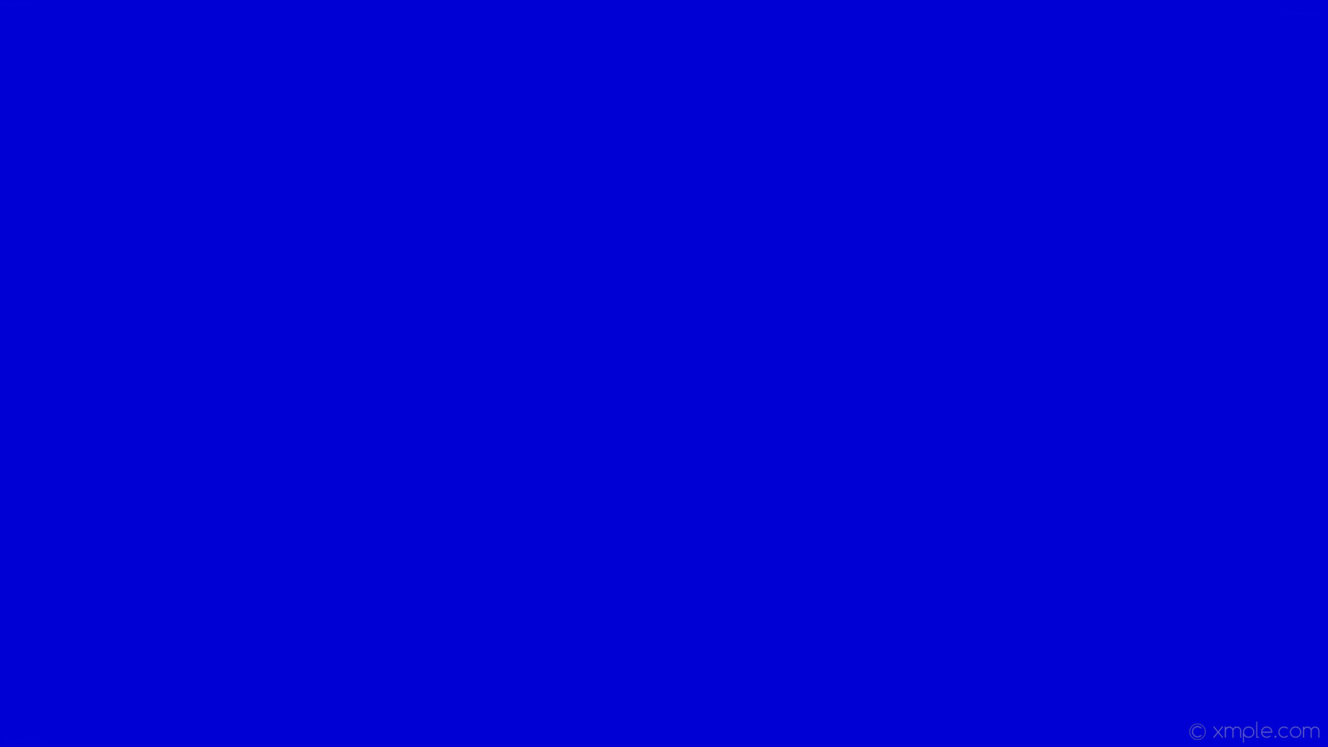 wallpaper solid color blue one colour plain single #0000d4