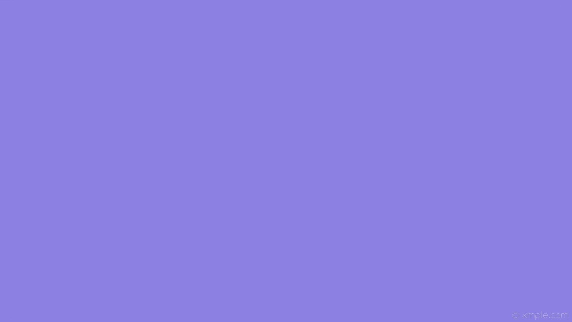 wallpaper blue one colour solid color single plain #8c80e3