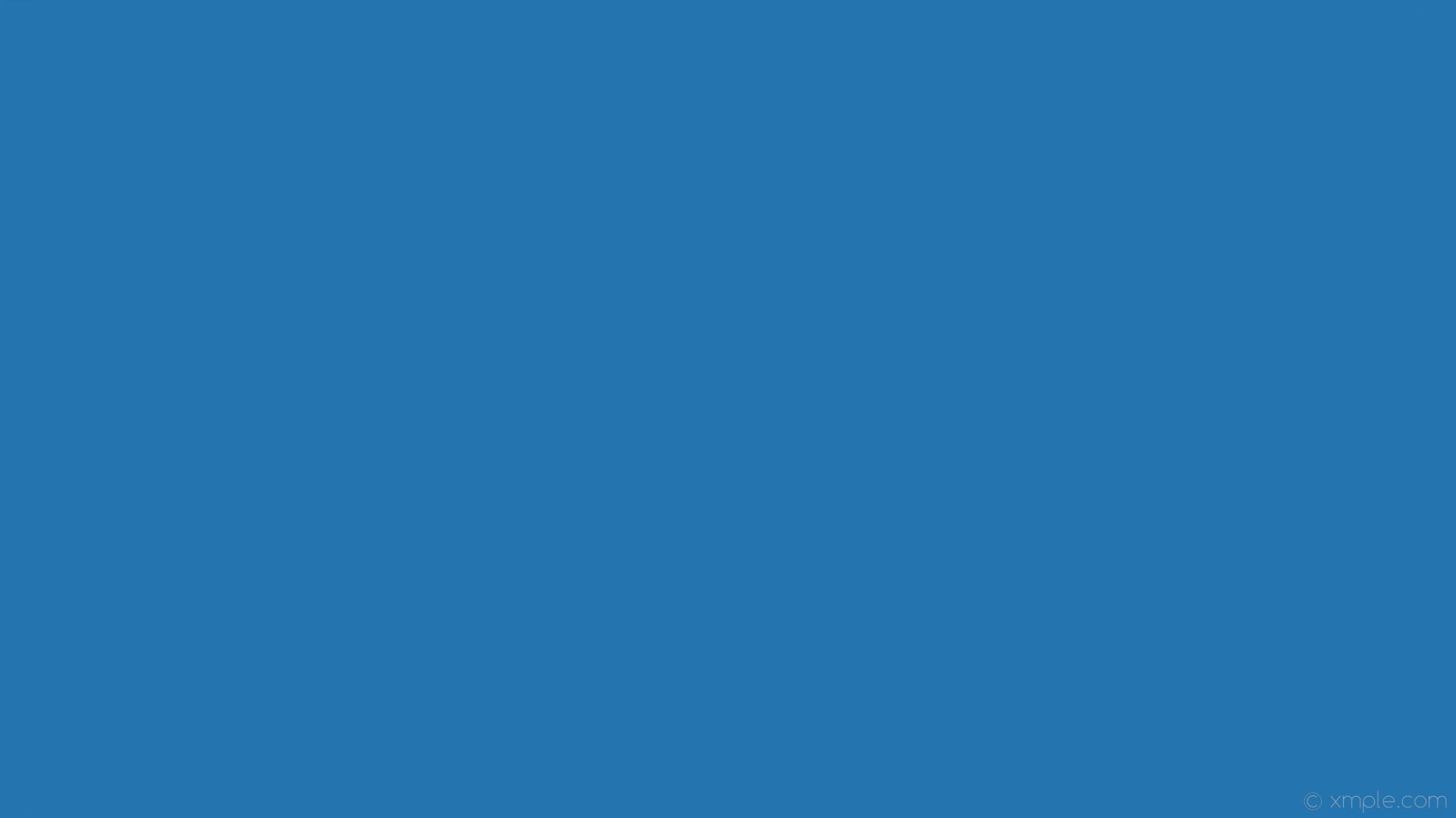 wallpaper one colour single azure plain solid color #2374af