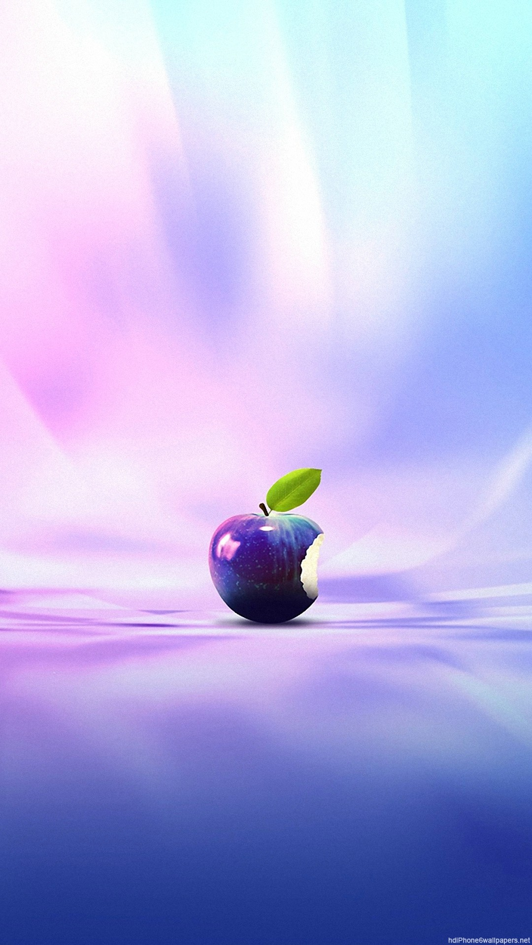 colorful apple rainbow purple iPhone 6 wallpapers HD – 6 Plus  backgrounds