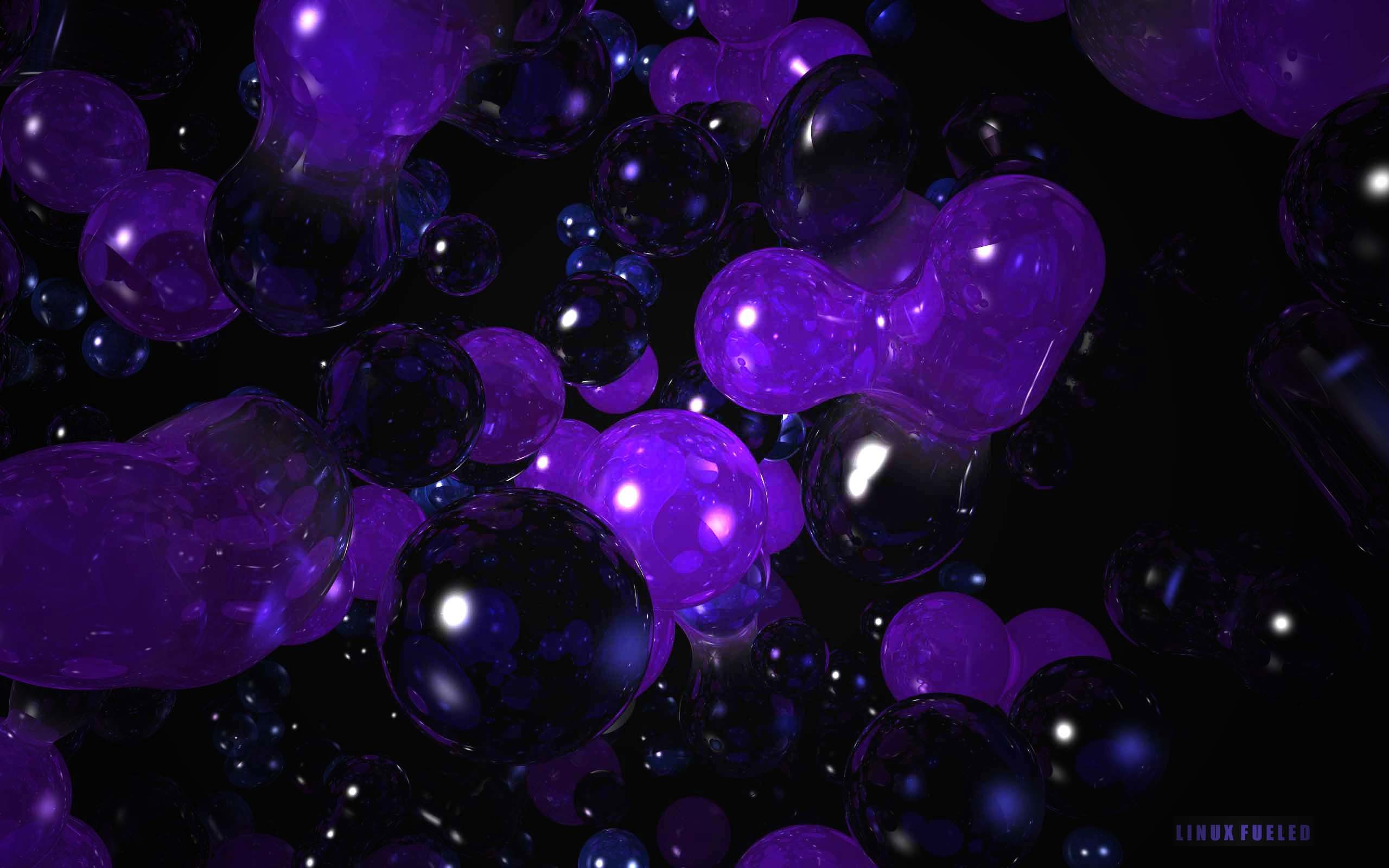 Purple Widescreen Wallpaper