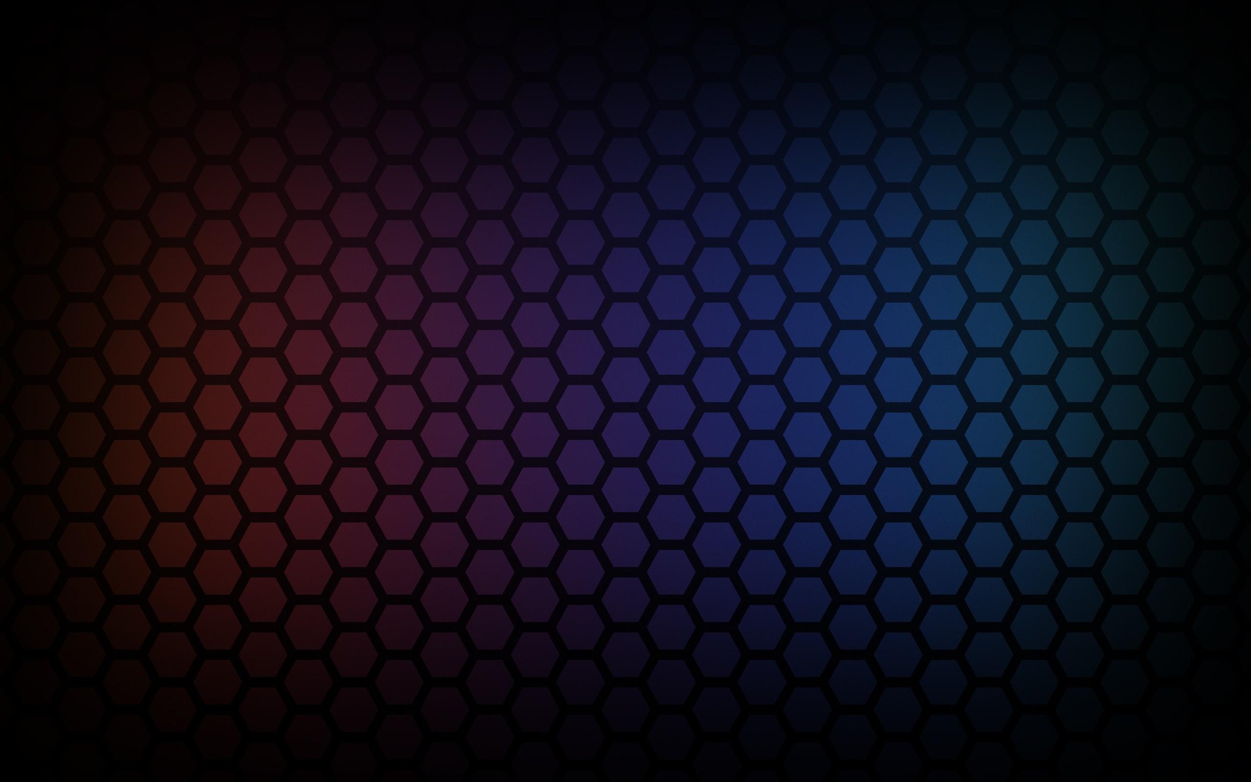 Wallpaper Cell, Light, Hexagon, Shadow
