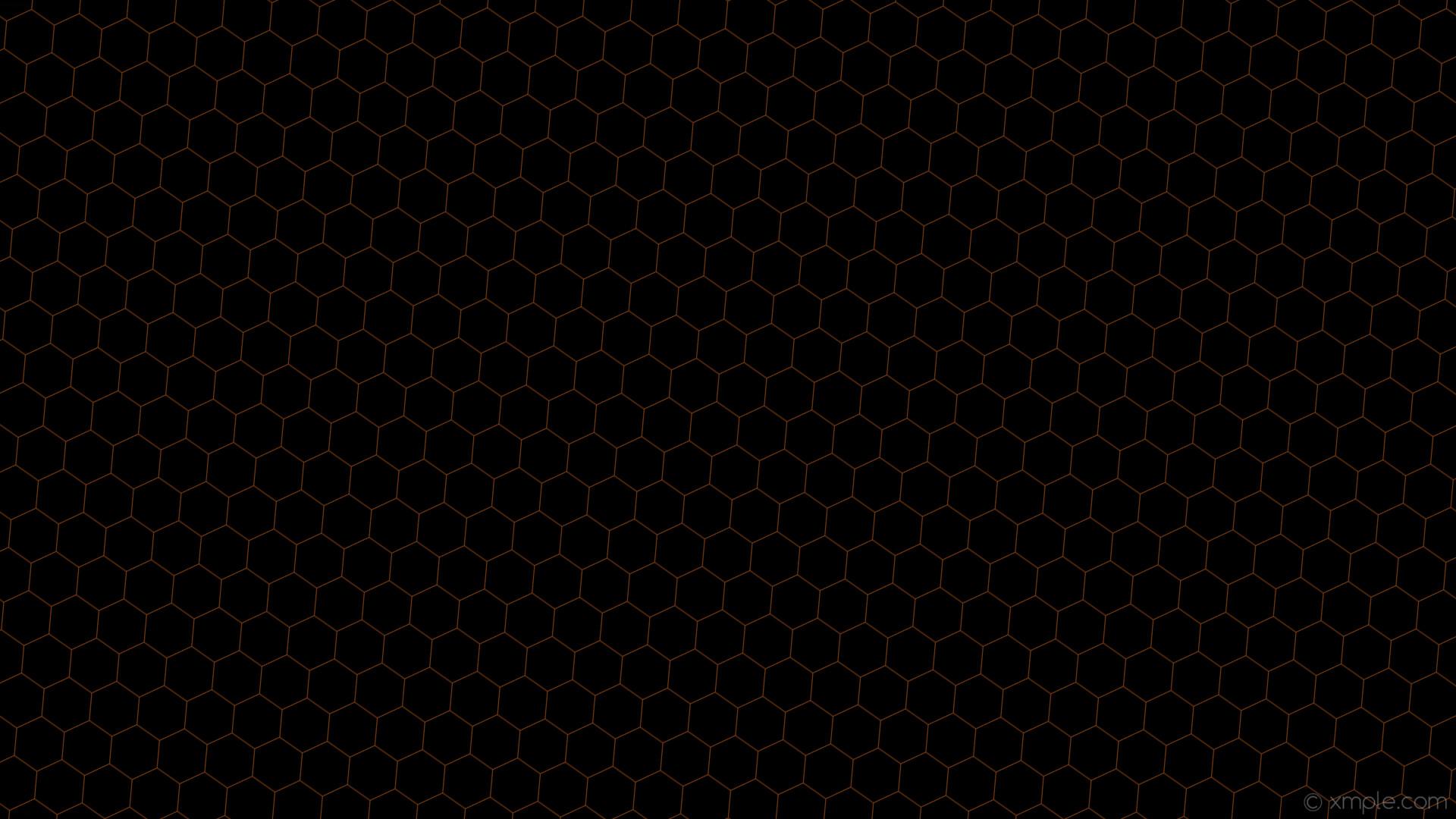 wallpaper black drop shadow brown beehive hexagon saddle brown #8b4513  #000000 45° 1px