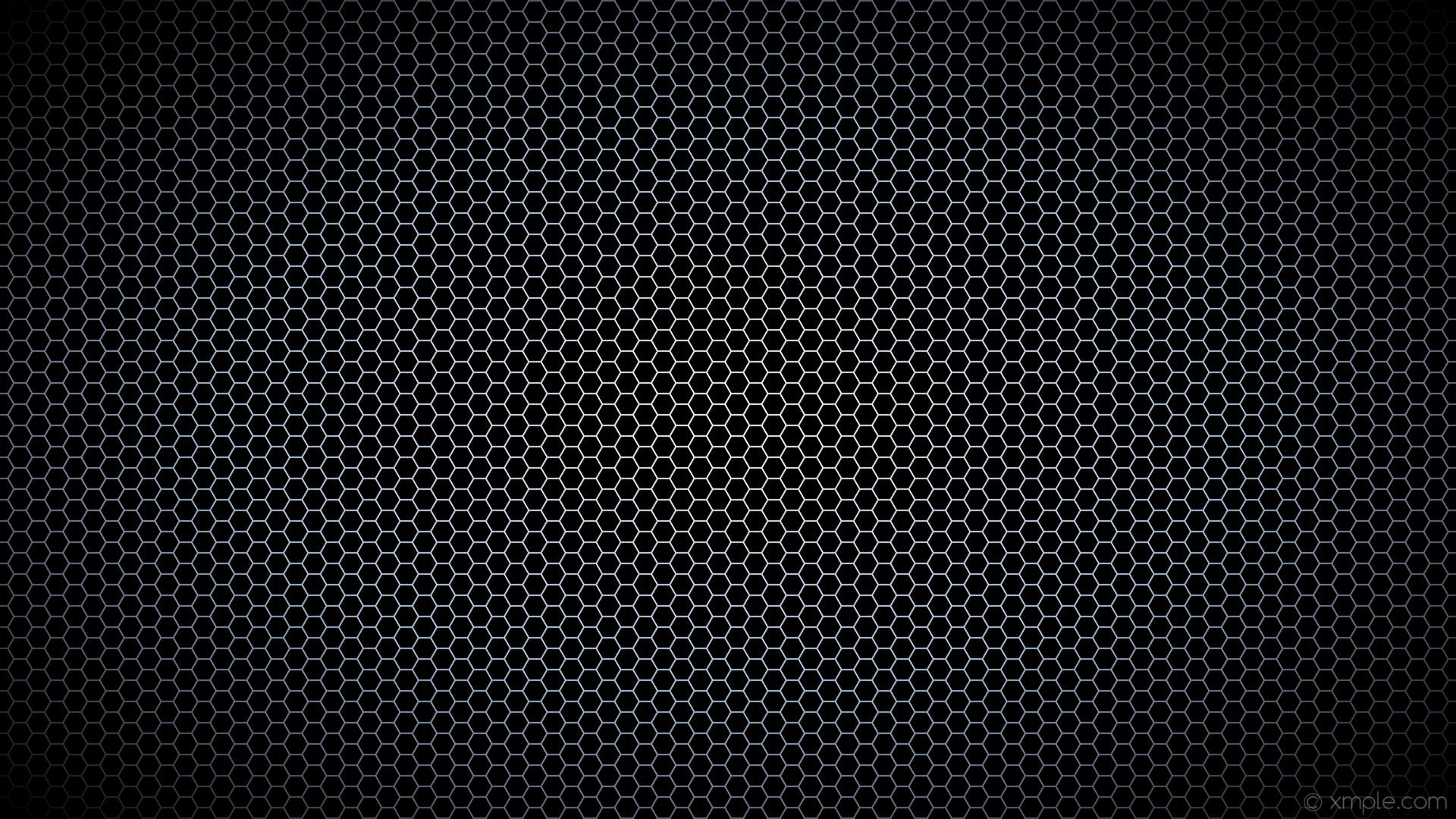 wallpaper black hexagon glow white blue gradient light steel blue #000000  #ffffff #b0c4de