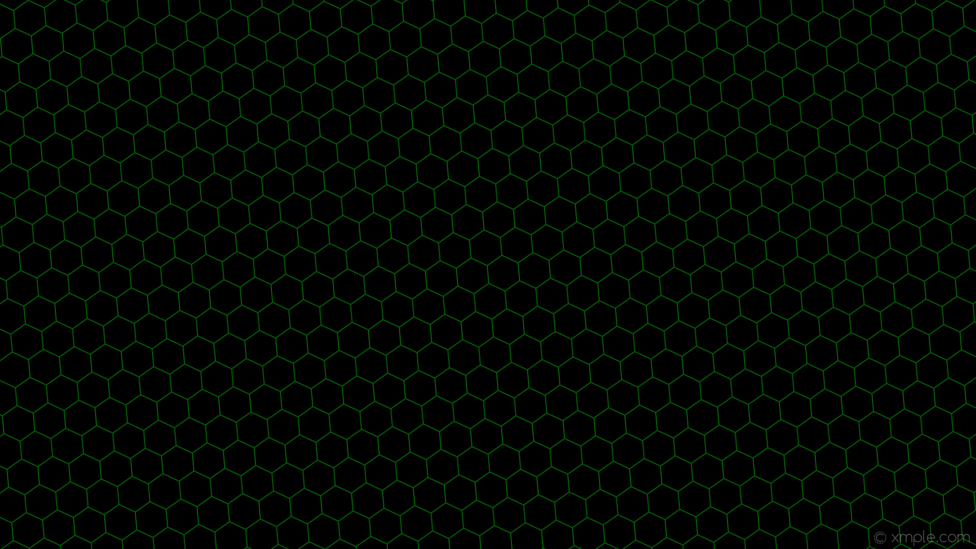 wallpaper honeycomb black green hexagon beehive dark green #000000 #006400  diagonal 5° 2px