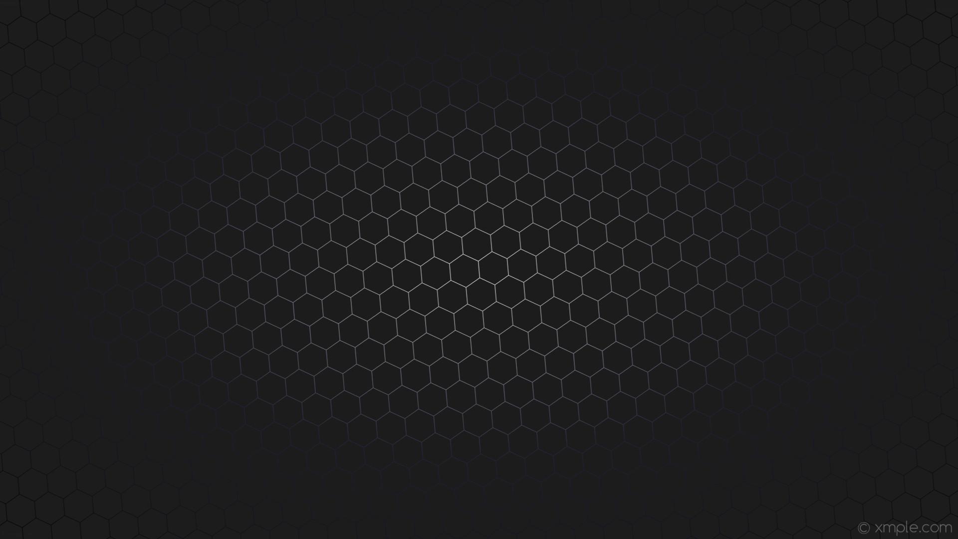 wallpaper glow gradient hexagon gray black blue white dark gray dark blue  #1c1c1d #ffffff