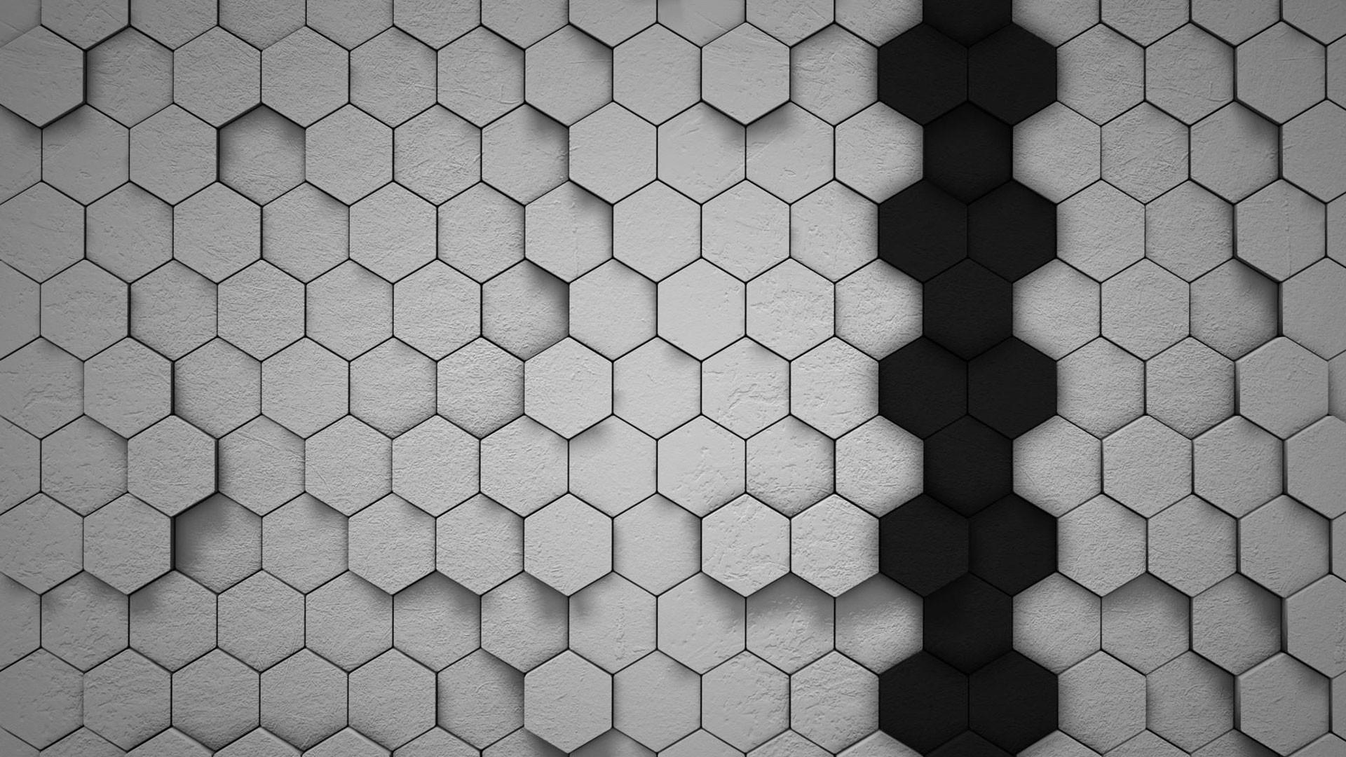 hd pics photos beautiful 3d polygon pattern gray black hexagon hd quality  desktop background wallpaper