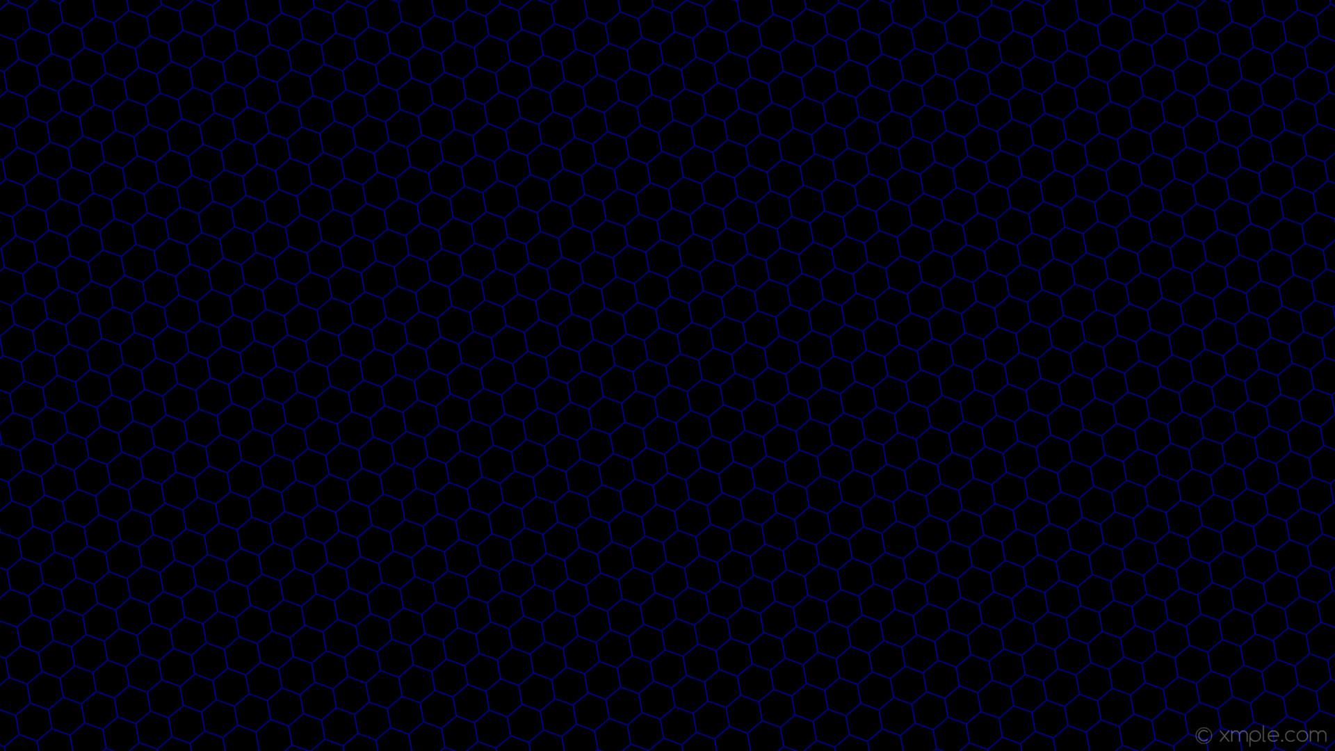 wallpaper honeycomb black beehive blue hexagon navy #000000 #000080  diagonal 10° 2px 48px