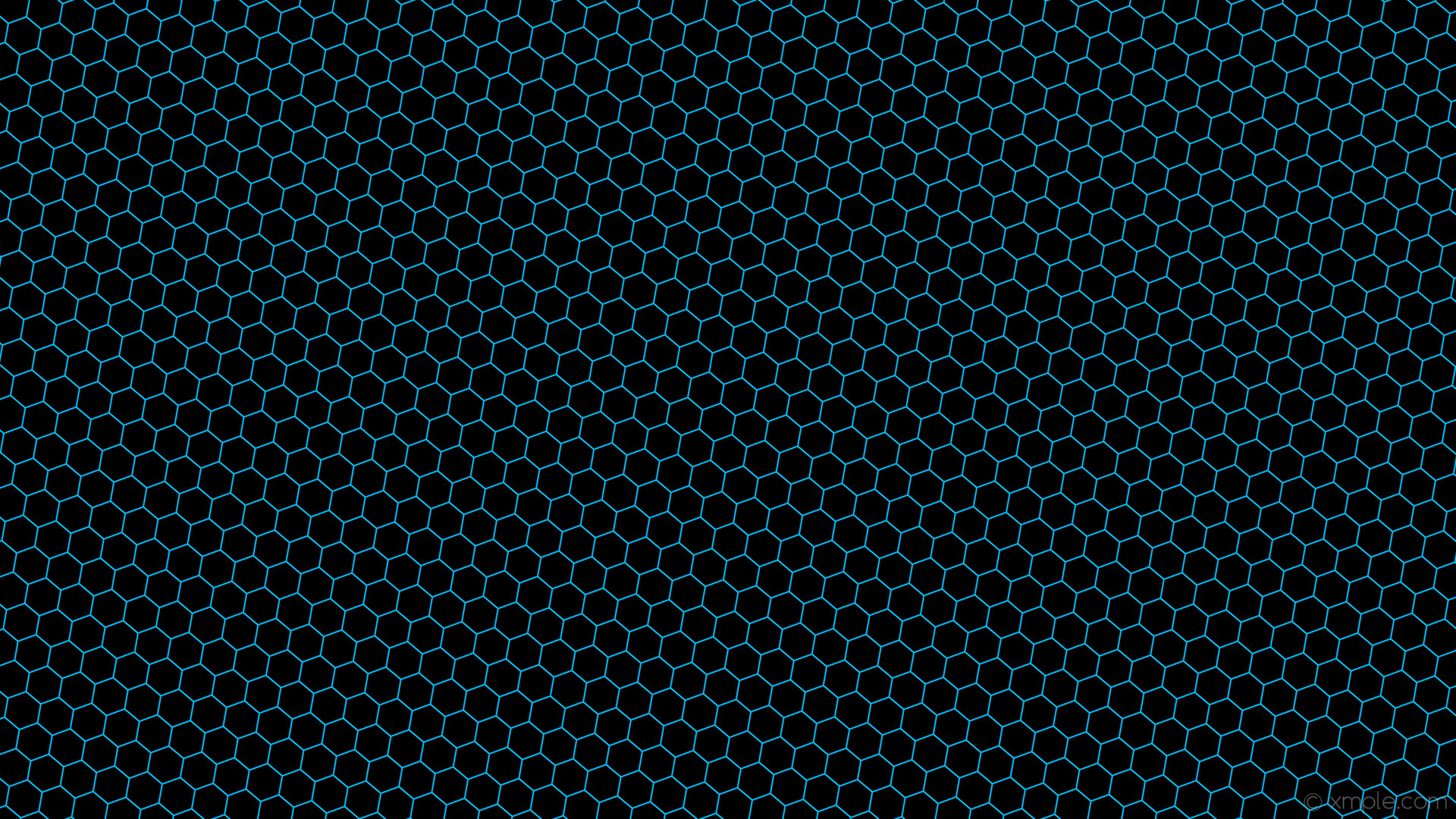 wallpaper honeycomb blue beehive hexagon black deep sky blue #000000  #00bfff diagonal 50°