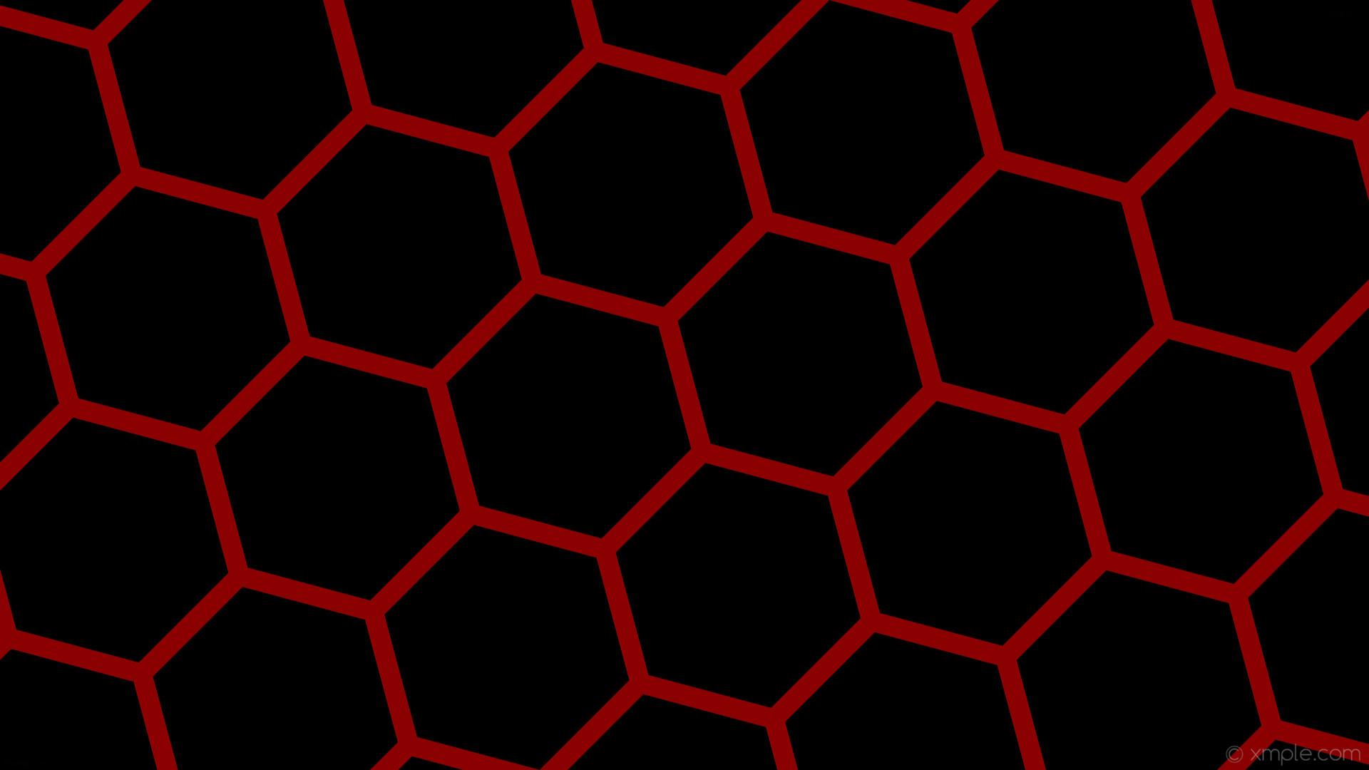 wallpaper beehive red black hexagon honeycomb dark red #000000 #8b0000  diagonal 15° 28px