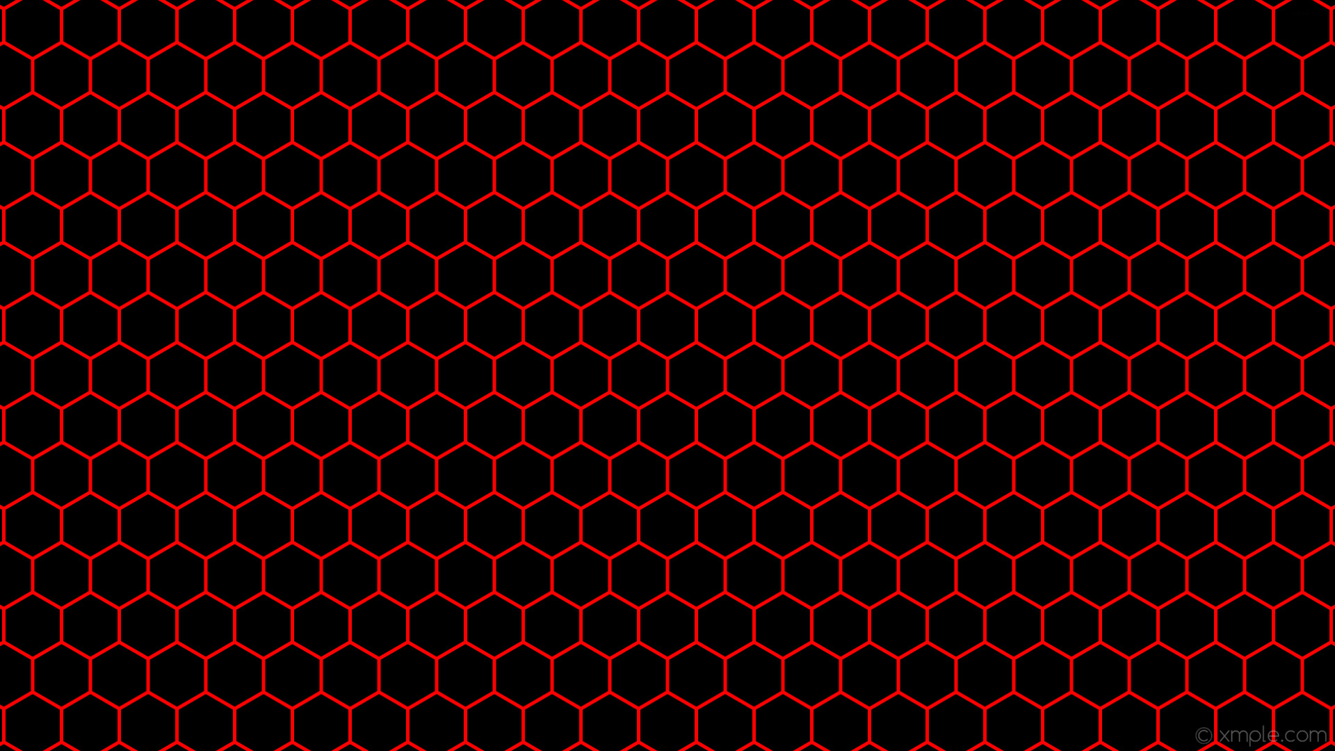 wallpaper beehive red black hexagon honeycomb #000000 #ff0000 0° 5px 83px