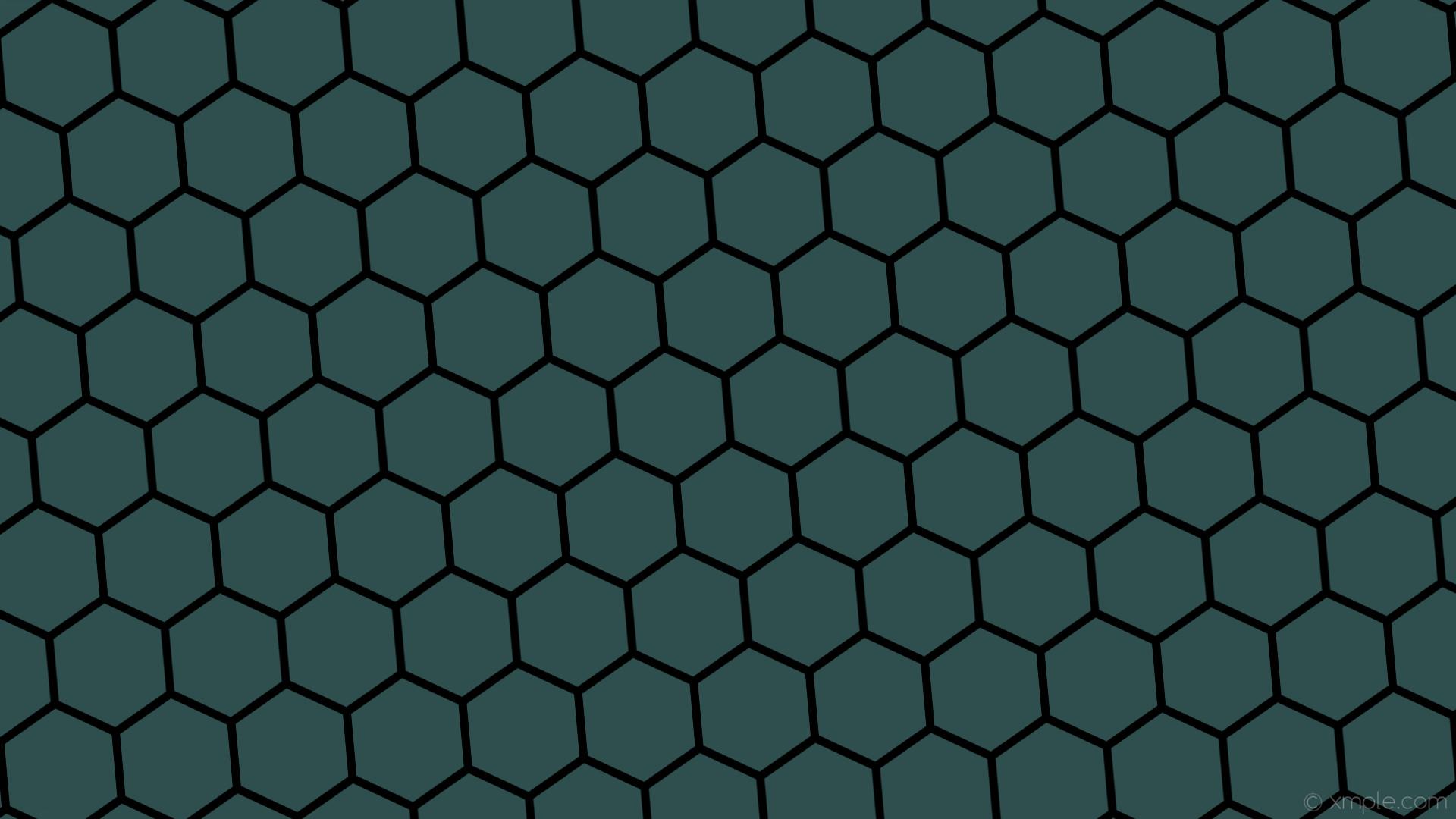 wallpaper honeycomb grey black hexagon beehive dark slate gray #2f4f4f  #000000 diagonal 5°