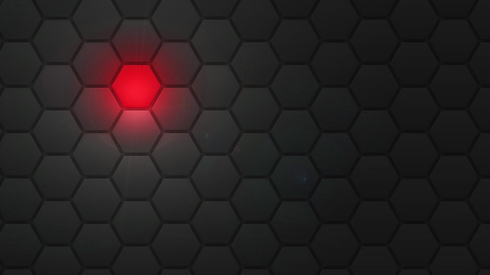 Black Hexagon Wallpaper Abstract hexagons wallpaper