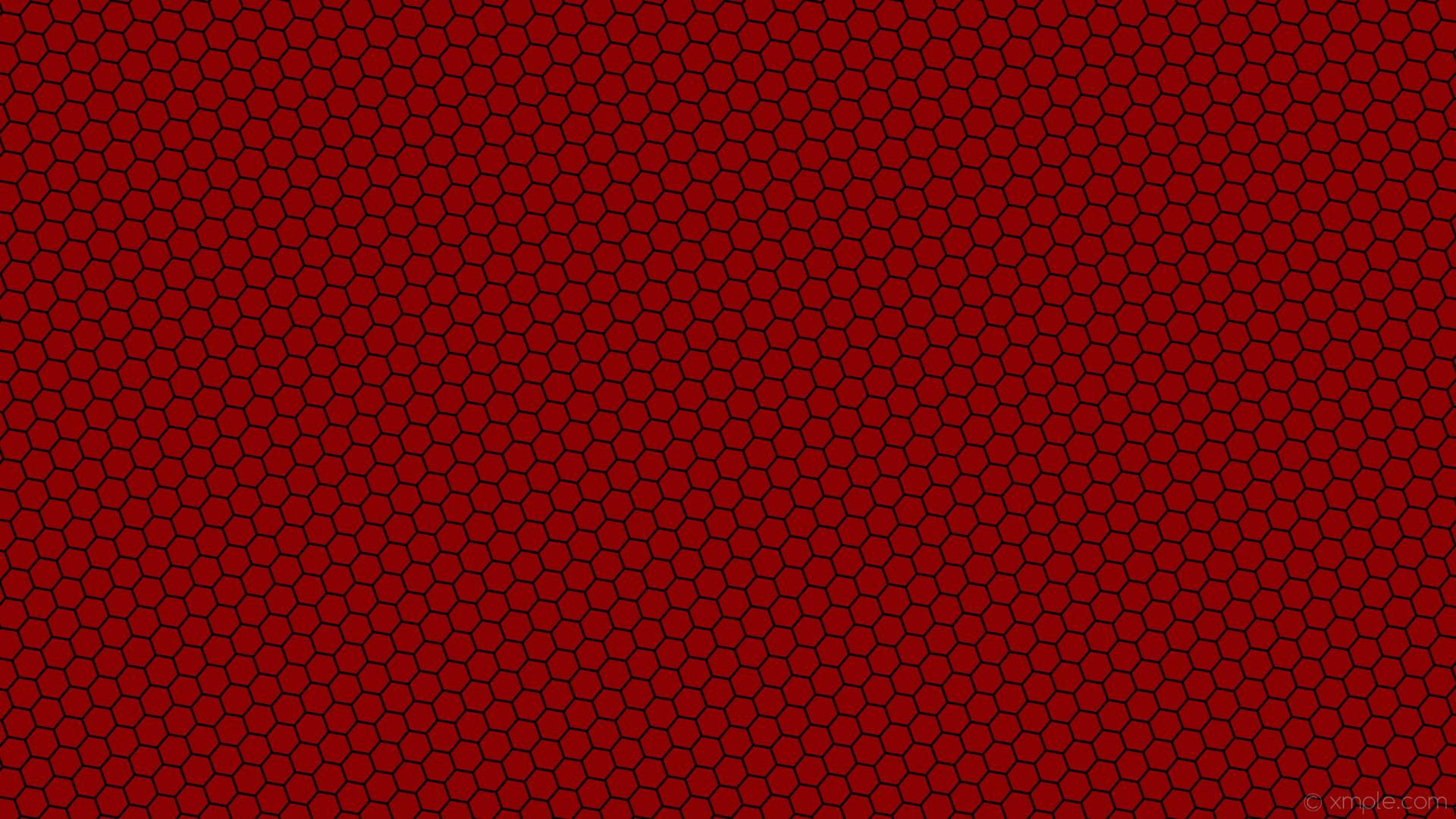 wallpaper beehive red hexagon honeycomb black dark red #8b0000 #000000  diagonal 20° 3px